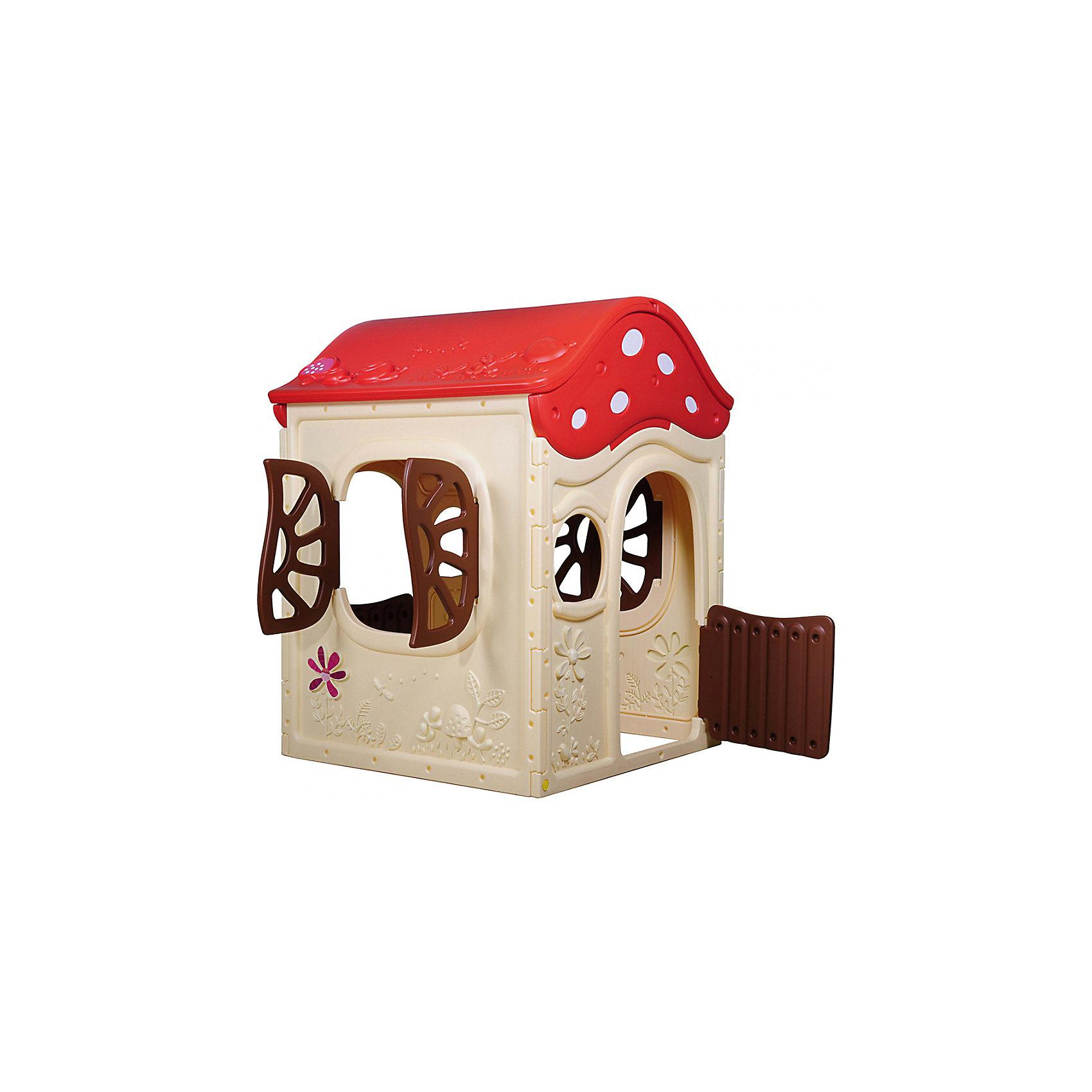 Игровой дом Грибок-теремок, 101x100x130 см, CHING CHING