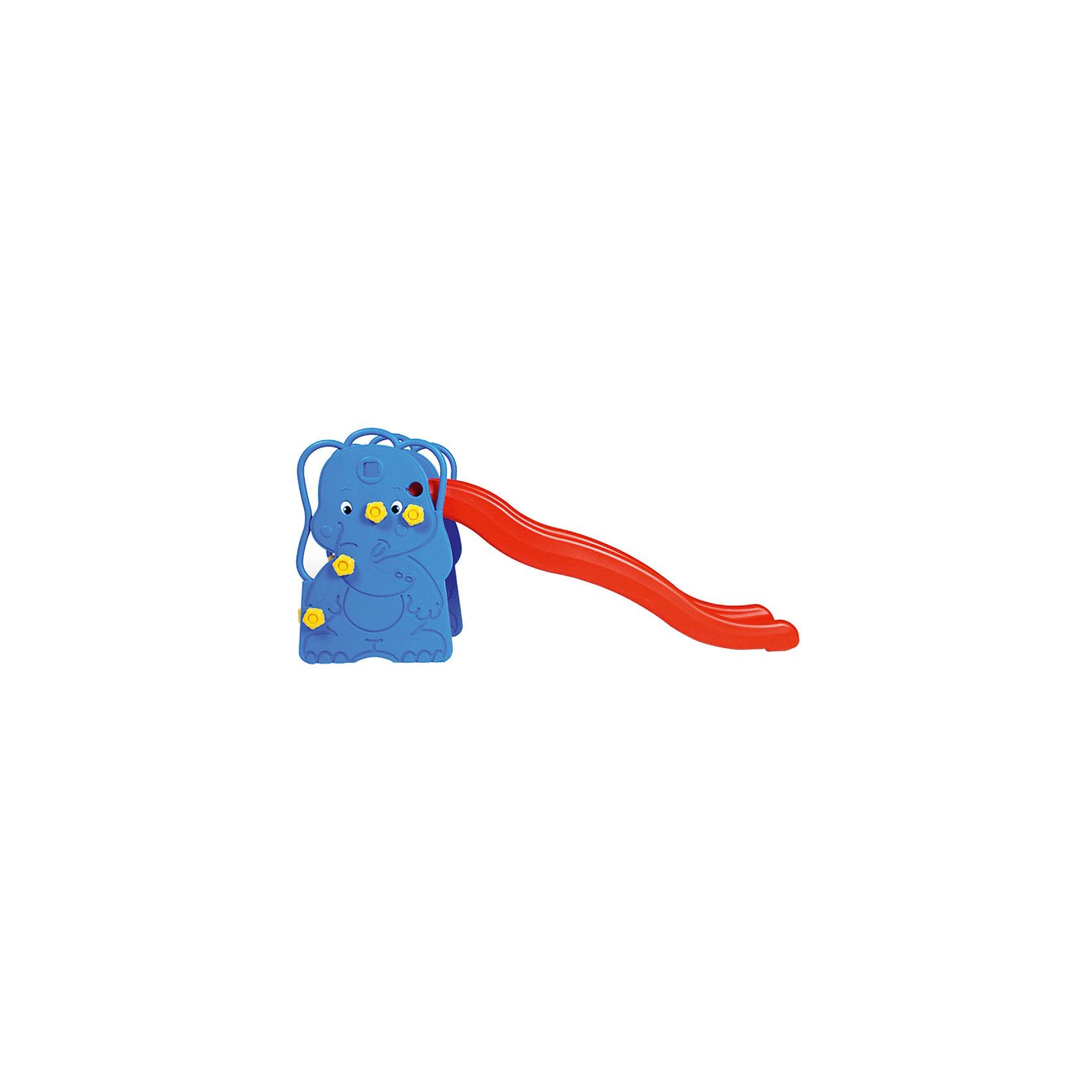 горка-слоненок-с-баскетбольным-кольцом-173x147x83-см-edu-play