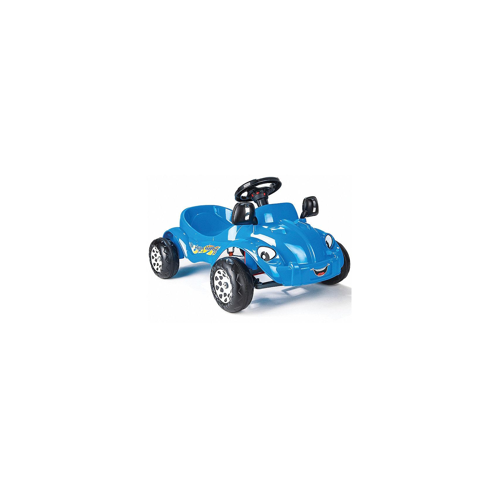 - Педальная машина Happy Herby, PILSAN pilsan педальная машина thunder