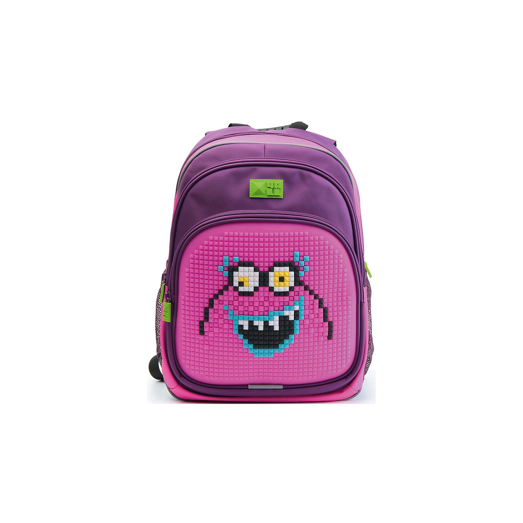 Рюкзак Kids, фиолетово-розовыйРюкзак KIDS - это одновременно и яркий, функциональный школьный аксессуар, и безграничная площадка для самовыражения, способная подчеркнуть любой выбранный образ. С помощью уникальной силиконовой панели и набора пластиковых пикселей-битов можно декорировать фасад рюкзака, как угодно, полагаясь на свое воображение и вкус. А все материалы, задействованные при изготовлении, имеют специальную вода- и грязеотталкивающую пропитку, что гарантирует практичность, износостойкость и долговечность рюкзака.<br><br>Такой современный и интересный ранец будет прекрасным подарком к 1 сентября!<br><br>Особенности:<br>AIR COMFORT system:<br>- Система свободной циркуляции воздуха между задней стенкой рюкзака и спиной ребенка.<br>- Совместно с ортопедической спиной ERGO system эта система воздухообмена делает ежедневное использование рюкзаков KIDS безопасным для здоровья и максимально комфортным!<br>ERGO system:<br>- Разработанная нами система ERGO служит равномерному распределению нагрузки на спину ребенка. Она способна сделать рюкзак, наполненный учебниками, легким. ERGO служит сохранению правильной осанки и заботится о здоровье позвоночника!<br>Ортопедическая спина:<br>- Важное свойство наших рюкзаков - ортопедическая спина! Способна как корсет поддерживать позвоночник, правильно распределяя нагрузку, а так же обеспечивает циркуляцию воздуха между задней стенкой рюкзака и спиной ребенка!<br>А также:<br>- Гипоаллергенный силикон;<br>- Водоотталкивающие материалы;<br>- Устойчивость всех материалов к температурам воздуха ниже 0!<br><br>Дополнительная информация:<br><br>- Рюкзак уже содержит 1 упаковку разноцветных пикселей-битов (300 шт.) для создания картинок<br>- Цвет: фиолетово-розовый;<br>- Объем рюкзака: 22 л.<br>- Размер в упаковке: 39х27х15 см.<br>- Вес в упаковке: 950 г.<br><br>Рюкзак Kids в  фиолетово-розовом цвете , можно купить в нашем магазине.<br><br>Ширина мм: 390<br>Глубина мм: 270<br>Высота мм: 150<br>Вес г: 950<br>Возраст от месяцев: 36<br>