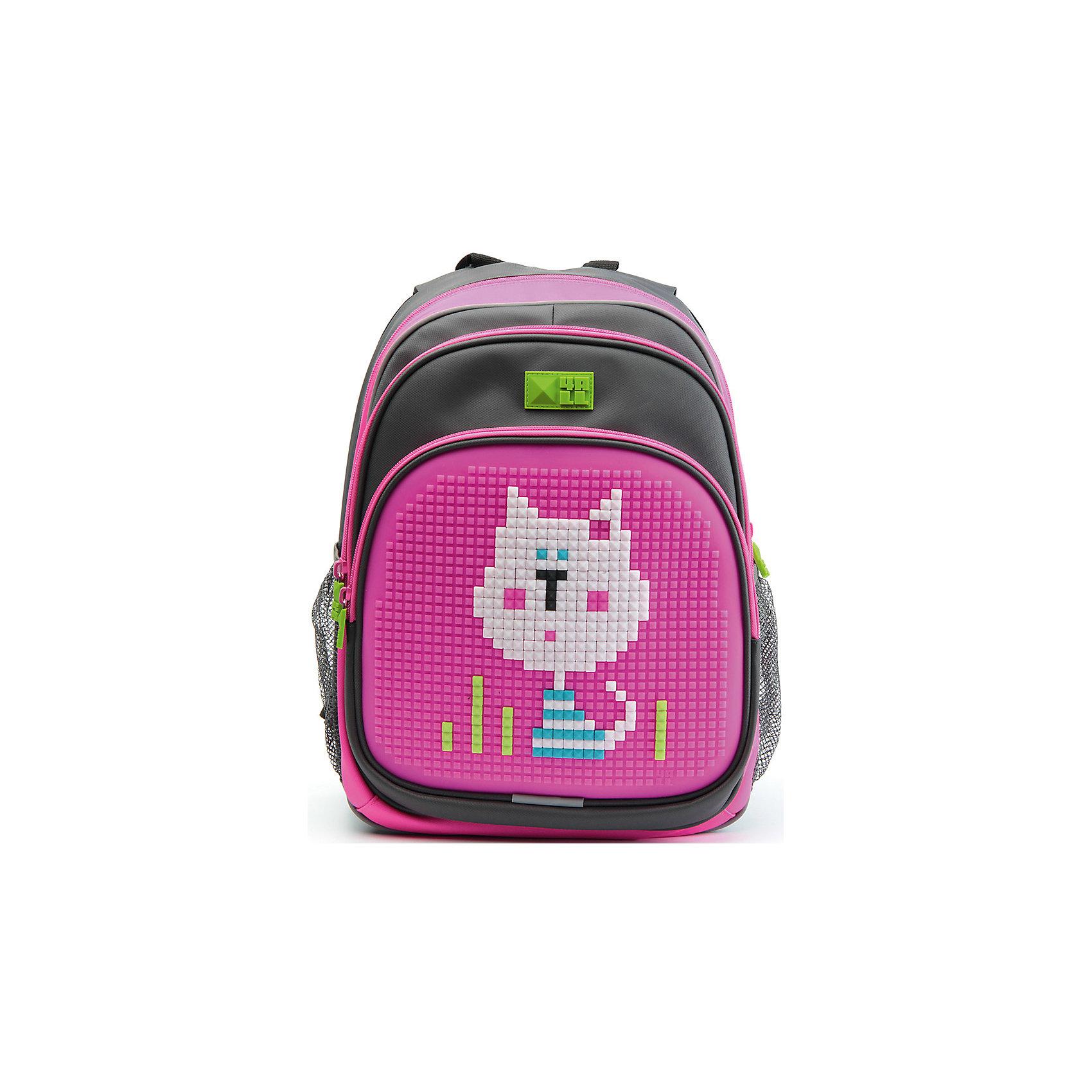 4ALL Рюкзак Kids, серо-розовыйРюкзаки<br>Рюкзак KIDS - это одновременно и яркий, функциональный школьный аксессуар, и безграничная площадка для самовыражения, способная подчеркнуть любой выбранный образ. С помощью уникальной силиконовой панели и набора пластиковых пикселей-битов можно декорировать фасад рюкзака, как угодно, полагаясь на свое воображение и вкус. А все материалы, задействованные при изготовлении, имеют специальную вода- и грязеотталкивающую пропитку, что гарантирует практичность, износостойкость и долговечность рюкзака.<br><br>Такой современный и интересный ранец будет прекрасным подарком к 1 сентября!<br><br>Особенности:<br>AIR COMFORT system:<br>- Система свободной циркуляции воздуха между задней стенкой рюкзака и спиной ребенка.<br>- Совместно с ортопедической спиной ERGO system эта система воздухообмена делает ежедневное использование рюкзаков KIDS безопасным для здоровья и максимально комфортным!<br>ERGO system:<br>- Разработанная нами система ERGO служит равномерному распределению нагрузки на спину ребенка. Она способна сделать рюкзак, наполненный учебниками, легким. ERGO служит сохранению правильной осанки и заботится о здоровье позвоночника!<br>Ортопедическая спина:<br>- Важное свойство наших рюкзаков - ортопедическая спина! Способна как корсет поддерживать позвоночник, правильно распределяя нагрузку, а так же обеспечивает циркуляцию воздуха между задней стенкой рюкзака и спиной ребенка!<br>А также:<br>- Гипоаллергенный силикон;<br>- Водоотталкивающие материалы;<br>- Устойчивость всех материалов к температурам воздуха ниже 0!<br><br>Дополнительная информация:<br><br>- Рюкзак уже содержит 1 упаковку разноцветных пикселей-битов (300 шт.) для создания картинок<br>- Цвет: серо-розовый;<br>- Объем рюкзака: 22 л.<br>- Размер в упаковке: 39х27х15 см.<br>- Вес в упаковке: 950 г.<br><br>Рюкзак Kids в  серо-розовом цвете , можно купить в нашем магазине.<br><br>Ширина мм: 390<br>Глубина мм: 270<br>Высота мм: 150<br>Вес г: 950<br>Возраст от месяцев: 36<br