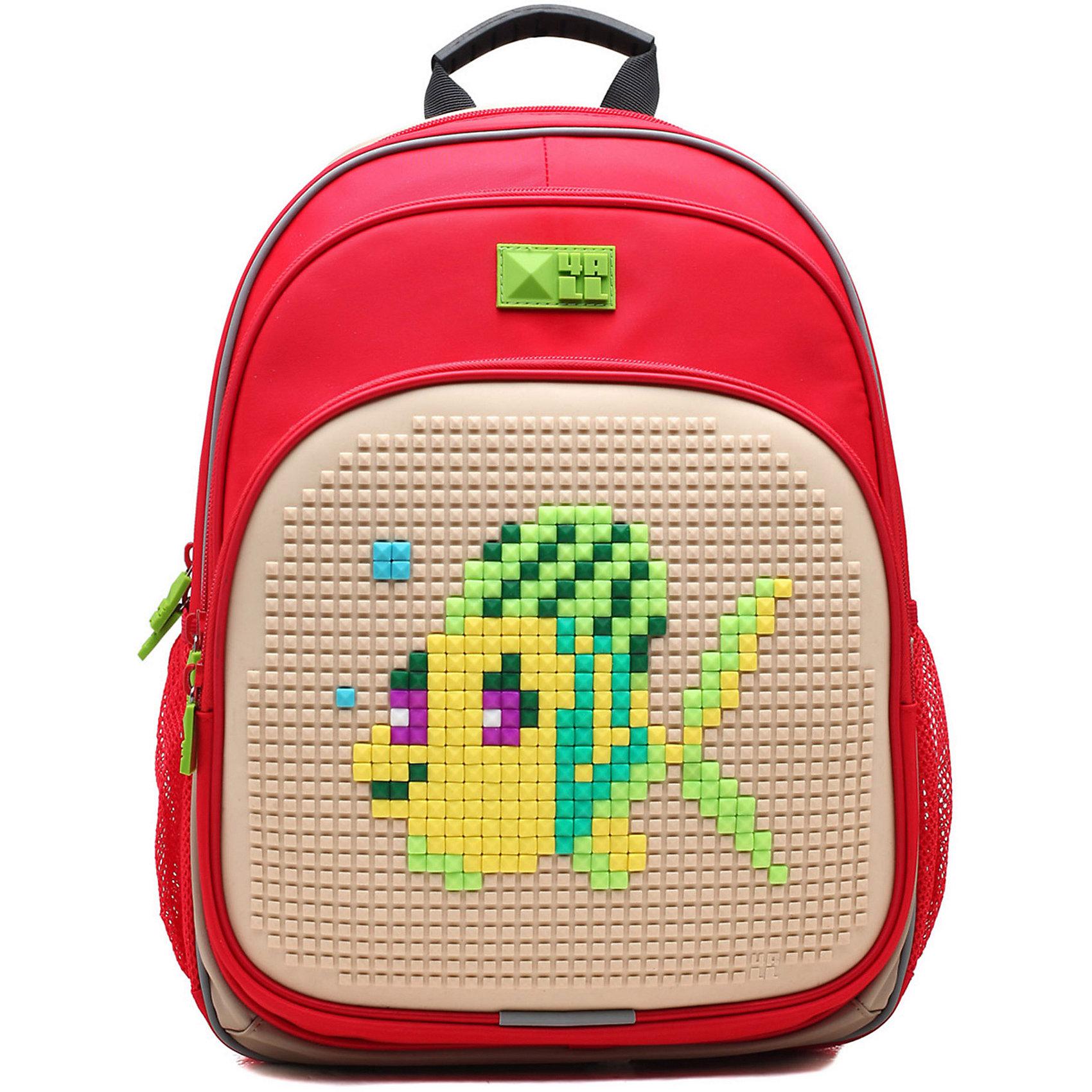 Рюкзак Kids, красно-сиреневыйРюкзак KIDS - это одновременно и яркий, функциональный школьный аксессуар, и безграничная площадка для самовыражения, способная подчеркнуть любой выбранный образ. С помощью уникальной силиконовой панели и набора пластиковых пикселей-битов можно декорировать фасад рюкзака, как угодно, полагаясь на свое воображение и вкус. А все материалы, задействованные при изготовлении, имеют специальную вода- и грязеотталкивающую пропитку, что гарантирует практичность, износостойкость и долговечность рюкзака.<br><br>Такой современный и интересный ранец будет прекрасным подарком к 1 сентября!<br><br>Особенности:<br>AIR COMFORT system:<br>- Система свободной циркуляции воздуха между задней стенкой рюкзака и спиной ребенка.<br>- Совместно с ортопедической спиной ERGO system эта система воздухообмена делает ежедневное использование рюкзаков KIDS безопасным для здоровья и максимально комфортным!<br>ERGO system:<br>- Разработанная нами система ERGO служит равномерному распределению нагрузки на спину ребенка. Она способна сделать рюкзак, наполненный учебниками, легким. ERGO служит сохранению правильной осанки и заботится о здоровье позвоночника!<br>Ортопедическая спина:<br>- Важное свойство наших рюкзаков - ортопедическая спина! Способна как корсет поддерживать позвоночник, правильно распределяя нагрузку, а так же обеспечивает циркуляцию воздуха между задней стенкой рюкзака и спиной ребенка!<br>А также:<br>- Гипоаллергенный силикон;<br>- Водоотталкивающие материалы;<br>- Устойчивость всех материалов к температурам воздуха ниже 0!<br><br>Дополнительная информация:<br><br>- Рюкзак уже содержит 1 упаковку разноцветных пикселей-битов (300 шт.) для создания картинок<br>- Цвет: красно-сиреневый;<br>- Объем рюкзака: 22 л.<br>- Размер в упаковке: 39х27х15 см.<br>- Вес в упаковке: 950 г.<br><br>Рюкзак Kids в  красно-сиреневом цвете , можно купить в нашем магазине.<br><br>Ширина мм: 390<br>Глубина мм: 270<br>Высота мм: 150<br>Вес г: 950<br>Возраст от месяцев: 36<br>Воз