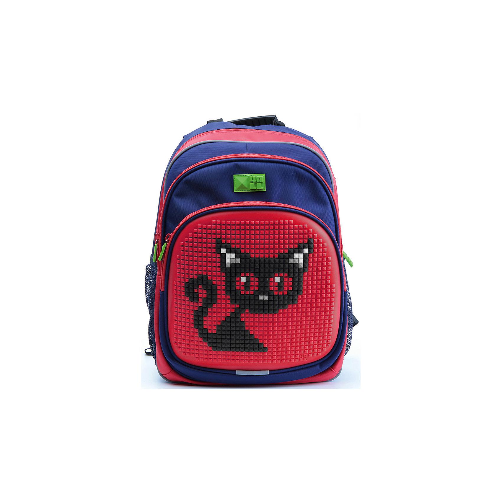 Рюкзак Kids, сине-красныйРюкзак KIDS - это одновременно и яркий, функциональный школьный аксессуар, и безграничная площадка для самовыражения, способная подчеркнуть любой выбранный образ. С помощью уникальной силиконовой панели и набора пластиковых пикселей-битов можно декорировать фасад рюкзака, как угодно, полагаясь на свое воображение и вкус. А все материалы, задействованные при изготовлении, имеют специальную вода- и грязеотталкивающую пропитку, что гарантирует практичность, износостойкость и долговечность рюкзака.<br><br>Такой современный и интересный ранец будет прекрасным подарком к 1 сентября!<br><br>Особенности:<br>AIR COMFORT system:<br>- Система свободной циркуляции воздуха между задней стенкой рюкзака и спиной ребенка.<br>- Совместно с ортопедической спиной ERGO system эта система воздухообмена делает ежедневное использование рюкзаков KIDS безопасным для здоровья и максимально комфортным!<br>ERGO system:<br>- Разработанная нами система ERGO служит равномерному распределению нагрузки на спину ребенка. Она способна сделать рюкзак, наполненный учебниками, легким. ERGO служит сохранению правильной осанки и заботится о здоровье позвоночника!<br>Ортопедическая спина:<br>- Важное свойство наших рюкзаков - ортопедическая спина! Способна как корсет поддерживать позвоночник, правильно распределяя нагрузку, а так же обеспечивает циркуляцию воздуха между задней стенкой рюкзака и спиной ребенка!<br>А также:<br>- Гипоаллергенный силикон;<br>- Водоотталкивающие материалы;<br>- Устойчивость всех материалов к температурам воздуха ниже 0!<br><br>Дополнительная информация:<br><br>- Рюкзак уже содержит 1 упаковку разноцветных пикселей-битов (300 шт.) для создания картинок<br>- Цвет: сине-красный;<br>- Объем рюкзака: 22 л.<br>- Размер в упаковке: 39х27х15 см.<br>- Вес в упаковке: 950 г.<br><br>Рюкзак Kids в  сине-красном цвете , можно купить в нашем магазине.<br><br>Ширина мм: 390<br>Глубина мм: 270<br>Высота мм: 150<br>Вес г: 950<br>Возраст от месяцев: 36<br>Возраст до меся