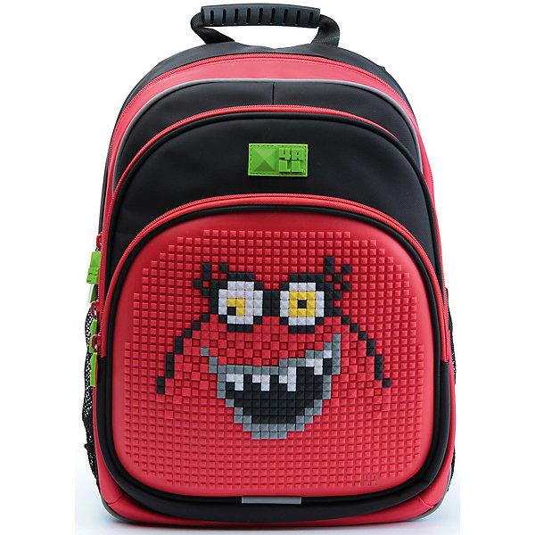 4ALL Рюкзак Kids, черно-красныйРюкзаки<br>Рюкзак KIDS - это одновременно и яркий, функциональный школьный аксессуар, и безграничная площадка для самовыражения, способная подчеркнуть любой выбранный образ. С помощью уникальной силиконовой панели и набора пластиковых пикселей-битов можно декорировать фасад рюкзака, как угодно, полагаясь на свое воображение и вкус. А все материалы, задействованные при изготовлении, имеют специальную вода- и грязеотталкивающую пропитку, что гарантирует практичность, износостойкость и долговечность рюкзака.<br><br>Такой современный и интересный ранец будет прекрасным подарком к 1 сентября!<br><br>Особенности:<br>AIR COMFORT system:<br>- Система свободной циркуляции воздуха между задней стенкой рюкзака и спиной ребенка.<br>- Совместно с ортопедической спиной ERGO system эта система воздухообмена делает ежедневное использование рюкзаков KIDS безопасным для здоровья и максимально комфортным!<br>ERGO system:<br>- Разработанная нами система ERGO служит равномерному распределению нагрузки на спину ребенка. Она способна сделать рюкзак, наполненный учебниками, легким. ERGO служит сохранению правильной осанки и заботится о здоровье позвоночника!<br>Ортопедическая спина:<br>- Важное свойство наших рюкзаков - ортопедическая спина! Способна как корсет поддерживать позвоночник, правильно распределяя нагрузку, а так же обеспечивает циркуляцию воздуха между задней стенкой рюкзака и спиной ребенка!<br>А также:<br>- Гипоаллергенный силикон;<br>- Водоотталкивающие материалы;<br>- Устойчивость всех материалов к температурам воздуха ниже 0!<br><br>Дополнительная информация:<br><br>- Рюкзак уже содержит 1 упаковку разноцветных пикселей-битов (300 шт.) для создания картинок<br>- Цвет: черно-красный;<br>- Объем рюкзака: 22 л.<br>- Размер в упаковке: 39х27х15 см.<br>- Вес в упаковке: 950 г.<br><br>Рюкзак Kids в черно-красном цвете , можно купить в нашем магазине.<br>Ширина мм: 390; Глубина мм: 270; Высота мм: 150; Вес г: 950; Возраст от месяцев: 36; Возраст до 
