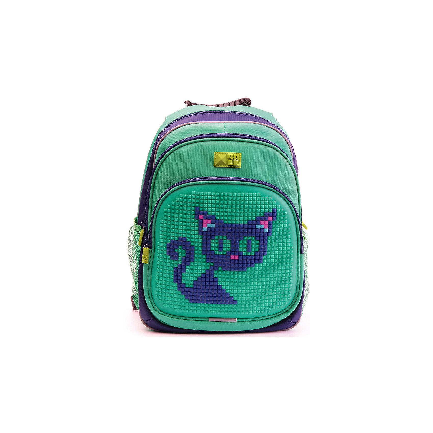 Рюкзак Kids, сине-зеленыйРюкзак KIDS - это одновременно и яркий, функциональный школьный аксессуар, и безграничная площадка для самовыражения, способная подчеркнуть любой выбранный образ. С помощью уникальной силиконовой панели и набора пластиковых пикселей-битов можно декорировать фасад рюкзака, как угодно, полагаясь на свое воображение и вкус. А все материалы, задействованные при изготовлении, имеют специальную вода- и грязеотталкивающую пропитку, что гарантирует практичность, износостойкость и долговечность рюкзака.<br><br>Такой современный и интересный ранец будет прекрасным подарком к 1 сентября!<br><br>Особенности:<br>AIR COMFORT system:<br>- Система свободной циркуляции воздуха между задней стенкой рюкзака и спиной ребенка.<br>- Совместно с ортопедической спиной ERGO system эта система воздухообмена делает ежедневное использование рюкзаков KIDS безопасным для здоровья и максимально комфортным!<br>ERGO system:<br>- Разработанная нами система ERGO служит равномерному распределению нагрузки на спину ребенка. Она способна сделать рюкзак, наполненный учебниками, легким. ERGO служит сохранению правильной осанки и заботится о здоровье позвоночника!<br>Ортопедическая спина:<br>- Важное свойство наших рюкзаков - ортопедическая спина! Способна как корсет поддерживать позвоночник, правильно распределяя нагрузку, а так же обеспечивает циркуляцию воздуха между задней стенкой рюкзака и спиной ребенка!<br>А также:<br>- Гипоаллергенный силикон;<br>- Водоотталкивающие материалы;<br>- Устойчивость всех материалов к температурам воздуха ниже 0!<br><br>Дополнительная информация:<br><br>- Рюкзак уже содержит 1 упаковку разноцветных пикселей-битов (300 шт.) для создания картинок<br>- Цвет: сине-зеленый;<br>- Объем рюкзака: 22 л.<br>- Размер в упаковке: 39х27х15 см.<br>- Вес в упаковке: 950 г.<br><br>Рюкзак Kids в сине-зеленом  цвете , можно купить в нашем магазине.<br><br>Ширина мм: 390<br>Глубина мм: 270<br>Высота мм: 150<br>Вес г: 950<br>Возраст от месяцев: 36<br>Возраст до меся