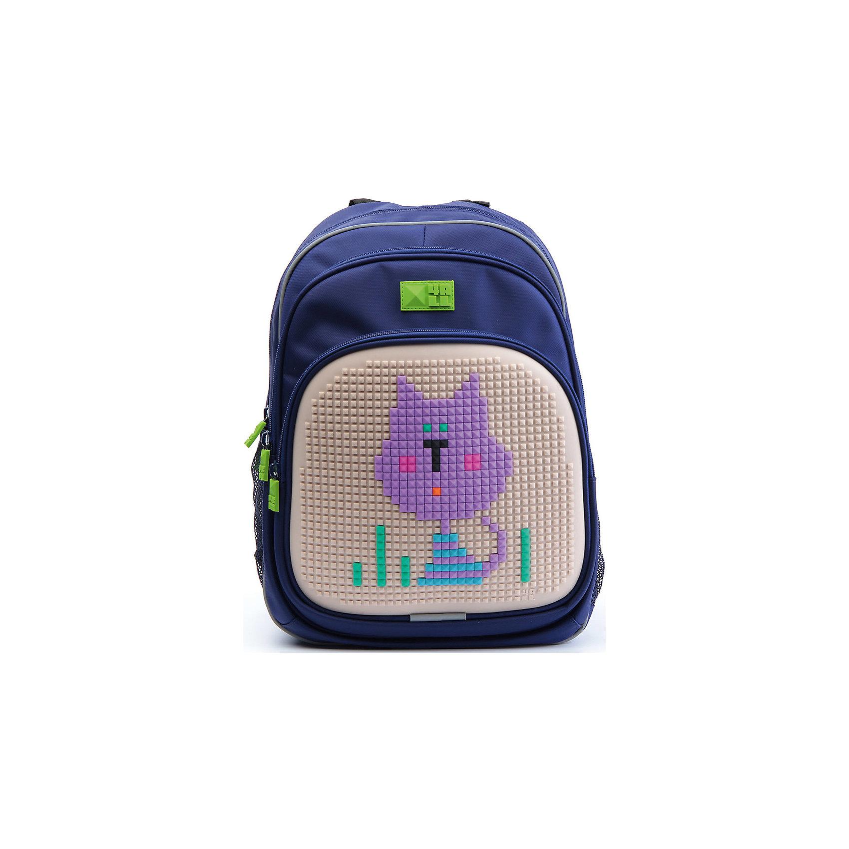 Рюкзак Kids, синийРюкзак KIDS - это одновременно и яркий, функциональный школьный аксессуар, и безграничная площадка для самовыражения, способная подчеркнуть любой выбранный образ. С помощью уникальной силиконовой панели и набора пластиковых пикселей-битов можно декорировать фасад рюкзака, как угодно, полагаясь на свое воображение и вкус. А все материалы, задействованные при изготовлении, имеют специальную вода- и грязеотталкивающую пропитку, что гарантирует практичность, износостойкость и долговечность рюкзака.<br><br>Такой современный и интересный ранец будет прекрасным подарком к 1 сентября!<br><br>Особенности:<br>AIR COMFORT system:<br>- Система свободной циркуляции воздуха между задней стенкой рюкзака и спиной ребенка.<br>- Совместно с ортопедической спиной ERGO system эта система воздухообмена делает ежедневное использование рюкзаков KIDS безопасным для здоровья и максимально комфортным!<br>ERGO system:<br>- Разработанная нами система ERGO служит равномерному распределению нагрузки на спину ребенка. Она способна сделать рюкзак, наполненный учебниками, легким. ERGO служит сохранению правильной осанки и заботится о здоровье позвоночника!<br>Ортопедическая спина:<br>- Важное свойство наших рюкзаков - ортопедическая спина! Способна как корсет поддерживать позвоночник, правильно распределяя нагрузку, а так же обеспечивает циркуляцию воздуха между задней стенкой рюкзака и спиной ребенка!<br>А также:<br>- Гипоаллергенный силикон;<br>- Водоотталкивающие материалы;<br>- Устойчивость всех материалов к температурам воздуха ниже 0!<br><br>Дополнительная информация:<br><br>- Рюкзак уже содержит 1 упаковку разноцветных пикселей-битов (300 шт.) для создания картинок<br>- Цвет: синий;<br>- Объем рюкзака: 22 л.<br>- Размер в упаковке: 39х27х15 см.<br>- Вес в упаковке: 950 г.<br><br>Рюкзак Kids в синем цвете , можно купить в нашем магазине.<br><br>Ширина мм: 390<br>Глубина мм: 270<br>Высота мм: 150<br>Вес г: 950<br>Возраст от месяцев: 36<br>Возраст до месяцев: 144<br>Пол: Унисе