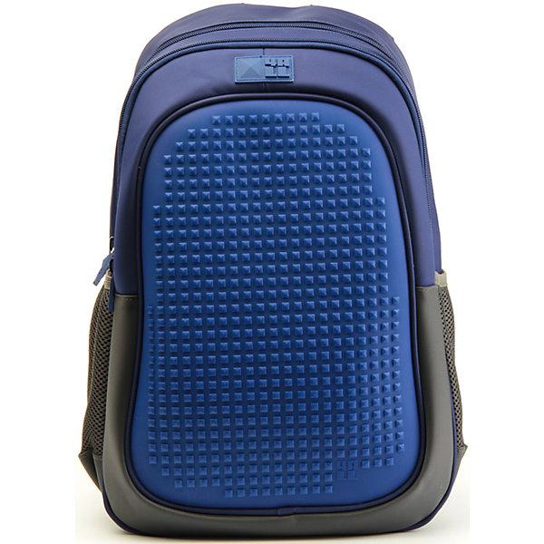 Рюкзак 4ALL Case, темно-синийРюкзаки<br>Яркий, вместительный рюкзак с одним большим отделением, карманом и силиконовой панелью для творчества. Развлечение и первые опыты в современном искусстве!<br>Такой современный и интересный ранец будет прекрасным подарком к 1 сентября!<br><br>Особенности:<br>AIR COMFORT system:<br>- Система свободной циркуляции воздуха между задней стенкой рюкзака и спиной ребенка.<br>- Совместно с ортопедической спиной ERGO system эта система воздухообмена делает ежедневное использование рюкзаков KIDS безопасным для здоровья и максимально комфортным!<br>ERGO system:<br>- Разработанная нами система ERGO служит равномерному распределению нагрузки на спину ребенка. Она способна сделать рюкзак, наполненный учебниками, легким. ERGO служит сохранению правильной осанки и заботится о здоровье позвоночника!<br>Ортопедическая спина:<br>- Важное свойство наших рюкзаков - ортопедическая спина! Способна как корсет поддерживать позвоночник, правильно распределяя нагрузку, а так же обеспечивает циркуляцию воздуха между задней стенкой рюкзака и спиной ребенка!<br>А также:<br>- Гипоаллергенный силикон;<br>- Водоотталкивающие материалы;<br>- Устойчивость всех материалов к температурам воздуха ниже 0!<br><br>Дополнительная информация:<br><br>- Рюкзак уже содержит 1 упаковку разноцветных пикселей-битов (300 шт.) для создания картинок<br>- Цвет: темно-синий;<br>- Объем рюкзака: 25,9 л.<br>- Размер в упаковке: 40х27х17 см.<br>- Вес в упаковке: 780 г.<br><br>Рюкзак Kids в темно-синем цвете , можно купить в нашем магазине.<br><br>Ширина мм: 400<br>Глубина мм: 270<br>Высота мм: 170<br>Вес г: 780<br>Возраст от месяцев: 72<br>Возраст до месяцев: 180<br>Пол: Унисекс<br>Возраст: Детский<br>SKU: 4786364