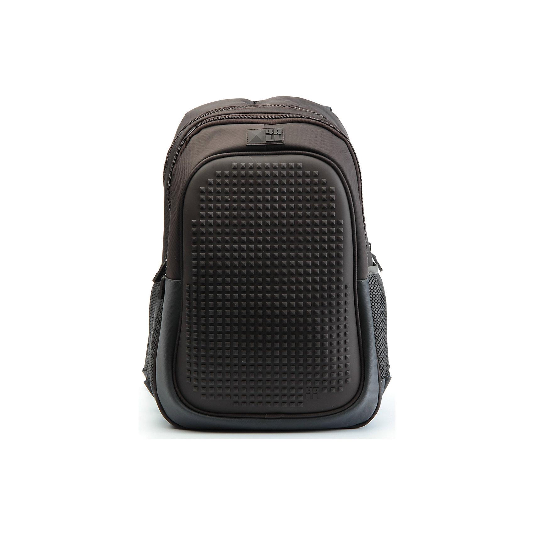 Рюкзак 4ALL  Case, темно-коричневыйРюкзаки<br>Яркий, вместительный рюкзак с одним большим отделением, карманом и силиконовой панелью для творчества. Развлечение и первые опыты в современном искусстве!<br>Такой современный и интересный ранец будет прекрасным подарком к 1 сентября!<br><br>Особенности:<br>AIR COMFORT system:<br>- Система свободной циркуляции воздуха между задней стенкой рюкзака и спиной ребенка.<br>- Совместно с ортопедической спиной ERGO system эта система воздухообмена делает ежедневное использование рюкзаков KIDS безопасным для здоровья и максимально комфортным!<br>ERGO system:<br>- Разработанная нами система ERGO служит равномерному распределению нагрузки на спину ребенка. Она способна сделать рюкзак, наполненный учебниками, легким. ERGO служит сохранению правильной осанки и заботится о здоровье позвоночника!<br>Ортопедическая спина:<br>- Важное свойство наших рюкзаков - ортопедическая спина! Способна как корсет поддерживать позвоночник, правильно распределяя нагрузку, а так же обеспечивает циркуляцию воздуха между задней стенкой рюкзака и спиной ребенка!<br>А также:<br>- Гипоаллергенный силикон;<br>- Водоотталкивающие материалы;<br>- Устойчивость всех материалов к температурам воздуха ниже 0!<br><br>Дополнительная информация:<br><br>- Рюкзак уже содержит 1 упаковку разноцветных пикселей-битов (300 шт.) для создания картинок<br>- Цвет: темно-коричневый;<br>- Объем рюкзака: 25,9 л.<br>- Размер в упаковке: 40х27х17 см.<br>- Вес в упаковке: 780 г.<br><br>Рюкзак Kids в темно-коричневом цвете , можно купить в нашем магазине.<br><br>Ширина мм: 400<br>Глубина мм: 270<br>Высота мм: 170<br>Вес г: 780<br>Возраст от месяцев: 72<br>Возраст до месяцев: 180<br>Пол: Унисекс<br>Возраст: Детский<br>SKU: 4786365