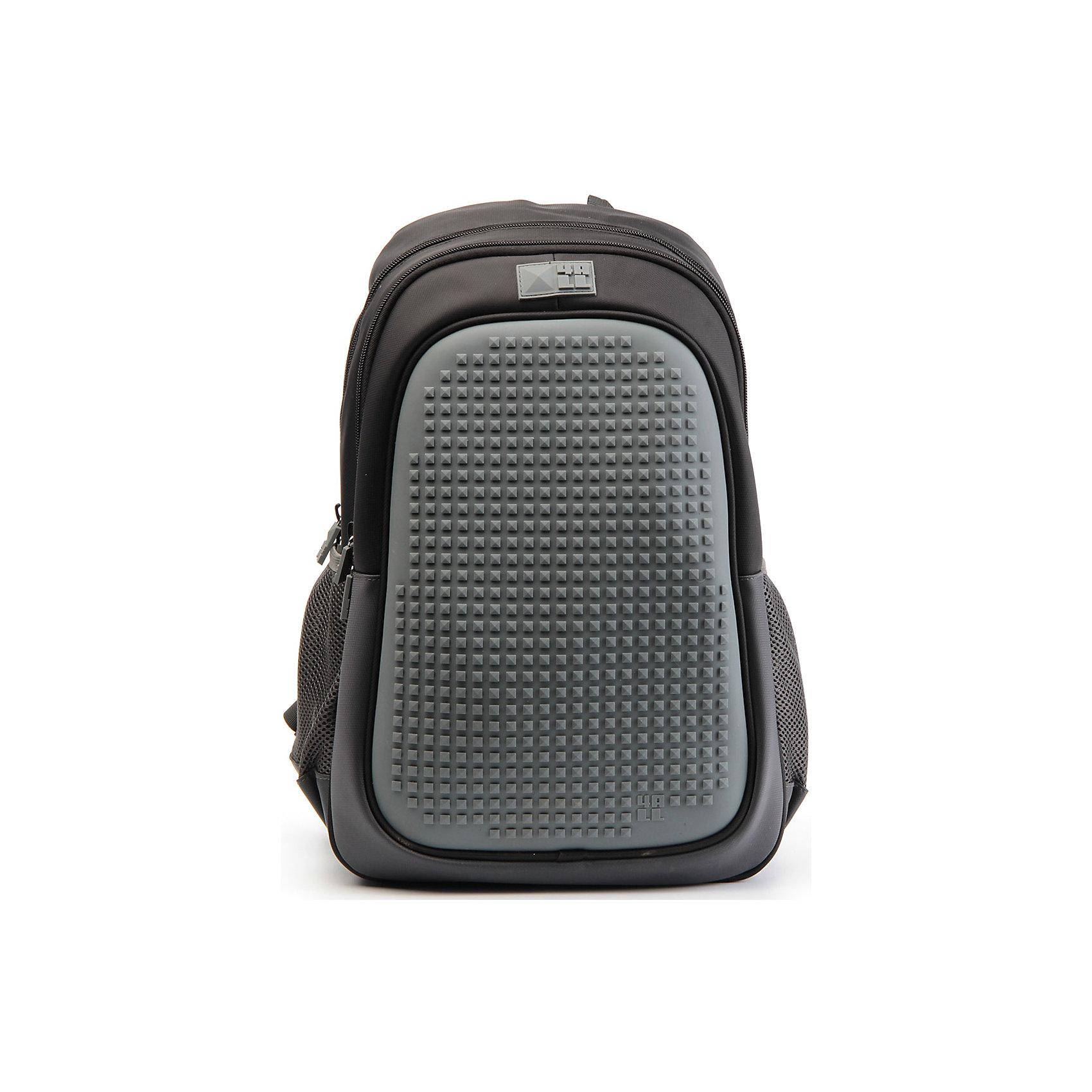 Рюкзак 4ALL  Case, черныйРюкзаки<br>Яркий, вместительный рюкзак с одним большим отделением, карманом и силиконовой панелью для творчества. Развлечение и первые опыты в современном искусстве!<br>Такой современный и интересный ранец будет прекрасным подарком к 1 сентября!<br><br>Особенности:<br>AIR COMFORT system:<br>- Система свободной циркуляции воздуха между задней стенкой рюкзака и спиной ребенка.<br>- Совместно с ортопедической спиной ERGO system эта система воздухообмена делает ежедневное использование рюкзаков KIDS безопасным для здоровья и максимально комфортным!<br>ERGO system:<br>- Разработанная нами система ERGO служит равномерному распределению нагрузки на спину ребенка. Она способна сделать рюкзак, наполненный учебниками, легким. ERGO служит сохранению правильной осанки и заботится о здоровье позвоночника!<br>Ортопедическая спина:<br>- Важное свойство наших рюкзаков - ортопедическая спина! Способна как корсет поддерживать позвоночник, правильно распределяя нагрузку, а так же обеспечивает циркуляцию воздуха между задней стенкой рюкзака и спиной ребенка!<br>А также:<br>- Гипоаллергенный силикон;<br>- Водоотталкивающие материалы;<br>- Устойчивость всех материалов к температурам воздуха ниже 0!<br><br>Дополнительная информация:<br><br>- Рюкзак уже содержит 1 упаковку разноцветных пикселей-битов (300 шт.) для создания картинок<br>- Цвет: черный;<br>- Объем рюкзака: 25,9 л.<br>- Размер в упаковке: 40х27х17 см.<br>- Вес в упаковке: 780 г.<br><br>Рюкзак Case в черном цвете , можно купить в нашем магазине.<br><br>Ширина мм: 400<br>Глубина мм: 270<br>Высота мм: 170<br>Вес г: 780<br>Возраст от месяцев: 72<br>Возраст до месяцев: 180<br>Пол: Унисекс<br>Возраст: Детский<br>SKU: 4786366