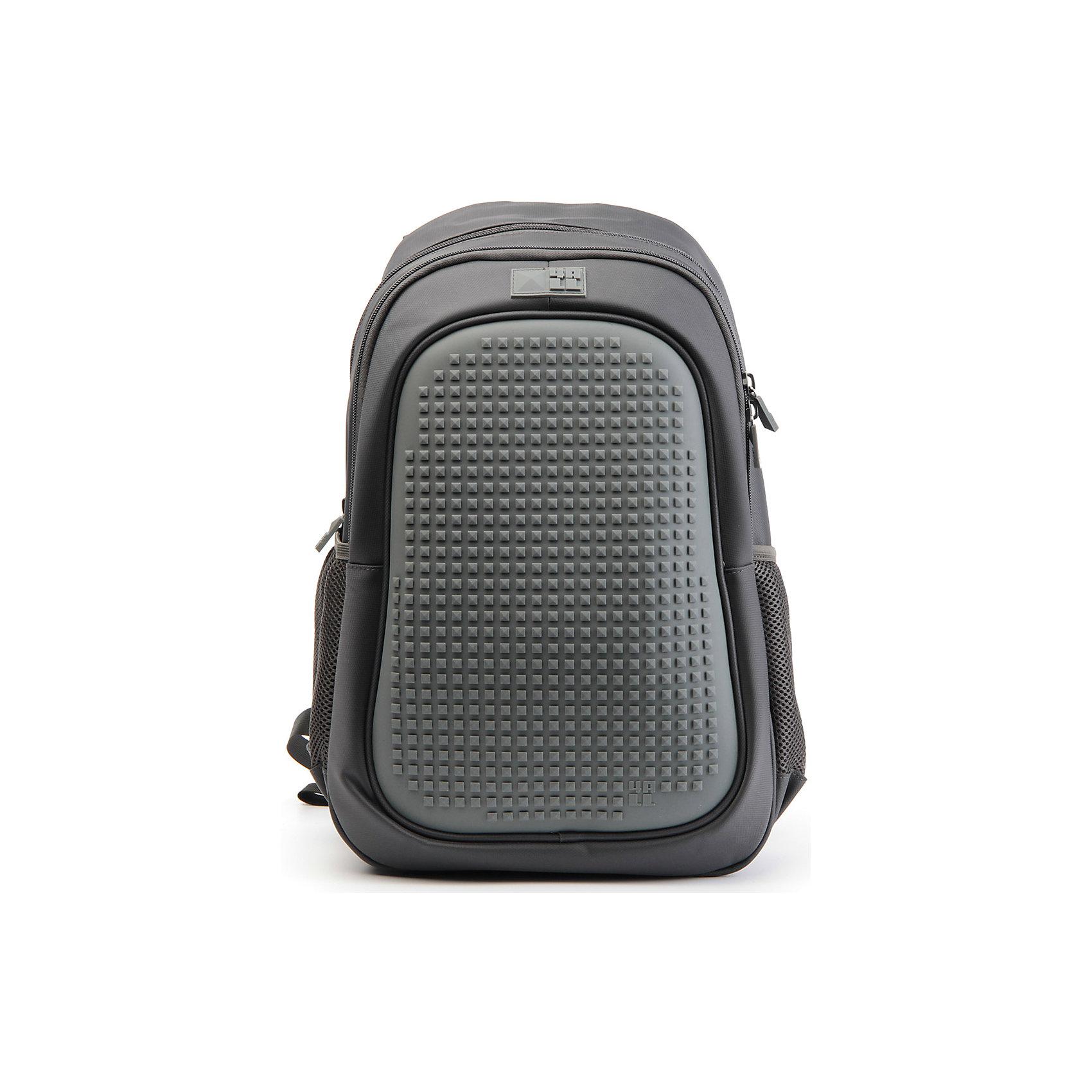 Рюкзак 4ALL  Case, темно-серыйРюкзаки<br>Яркий, вместительный рюкзак с одним большим отделением, карманом и силиконовой панелью для творчества. Развлечение и первые опыты в современном искусстве!<br>Такой современный и интересный ранец будет прекрасным подарком к 1 сентября!<br><br>Особенности:<br>AIR COMFORT system:<br>- Система свободной циркуляции воздуха между задней стенкой рюкзака и спиной ребенка.<br>- Совместно с ортопедической спиной ERGO system эта система воздухообмена делает ежедневное использование рюкзаков KIDS безопасным для здоровья и максимально комфортным!<br>ERGO system:<br>- Разработанная нами система ERGO служит равномерному распределению нагрузки на спину ребенка. Она способна сделать рюкзак, наполненный учебниками, легким. ERGO служит сохранению правильной осанки и заботится о здоровье позвоночника!<br>Ортопедическая спина:<br>- Важное свойство наших рюкзаков - ортопедическая спина! Способна как корсет поддерживать позвоночник, правильно распределяя нагрузку, а так же обеспечивает циркуляцию воздуха между задней стенкой рюкзака и спиной ребенка!<br>А также:<br>- Гипоаллергенный силикон;<br>- Водоотталкивающие материалы;<br>- Устойчивость всех материалов к температурам воздуха ниже 0!<br><br>Дополнительная информация:<br><br>- Рюкзак уже содержит 1 упаковку разноцветных пикселей-битов (300 шт.) для создания картинок<br>- Цвет: темно-серый;<br>- Объем рюкзака: 25,9 л.<br>- Размер в упаковке: 40х27х17 см.<br>- Вес в упаковке: 780 г.<br><br>Рюкзак Kids в темно-сером цвете , можно купить в нашем магазине.<br><br>Ширина мм: 400<br>Глубина мм: 270<br>Высота мм: 170<br>Вес г: 780<br>Возраст от месяцев: 72<br>Возраст до месяцев: 180<br>Пол: Унисекс<br>Возраст: Детский<br>SKU: 4786367