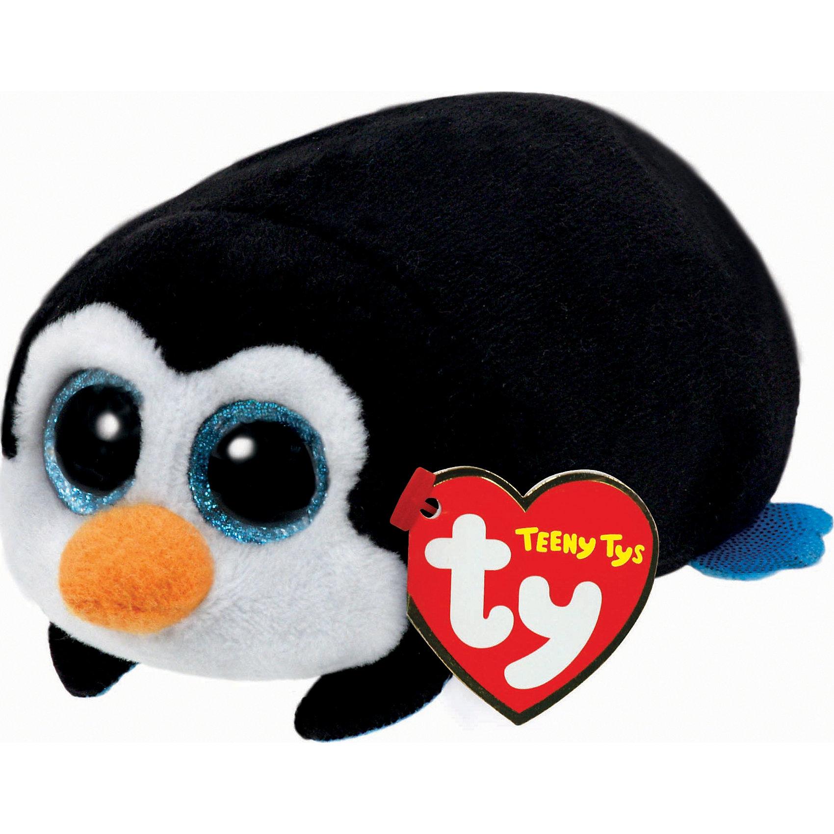 Мягкая игрушка Пингвин Pocket, 11 см, Teeny Tys, TyЗвери и птицы<br>Мягкая игрушка Пингвин Pocket, 11 см, Teeny Tys, Ty (Тай)<br><br>Характеристики:<br><br>• мягкий и приятный на ощупь<br>• внутри находятся специальные гранулы для развития тактильных навыков<br>• способствует развитию мелкой моторики<br>• удобно взять с собой<br>• материал: искусственный мех, текстиль, пластик<br>• изготовлена из безопасных материалов<br>• наполнитель: синтепон<br>• размер игрушки: 11 см<br><br>Пингвин Pocket станет для вашего ребенка верным другом в любой ситуации. Этот малыш имеет очень мягкую шерстку и большие сверкающие глазки. Перед таким милым взглядом не устоит ни один ребенок! Игрушка изготовлена из материалов, безопасных для ребенка. А внутри находятся специальные гранулы, помогающие в развитии моторики рук и тактильных ощущений.<br><br>Мягкую игрушку Пингвин Pocket, 11 см, Teeny Tys, Ty (Тай) можно купить в нашем интернет-магазине.<br><br>Ширина мм: 55<br>Глубина мм: 100<br>Высота мм: 45<br>Вес г: 42<br>Возраст от месяцев: 12<br>Возраст до месяцев: 72<br>Пол: Женский<br>Возраст: Детский<br>SKU: 4787359