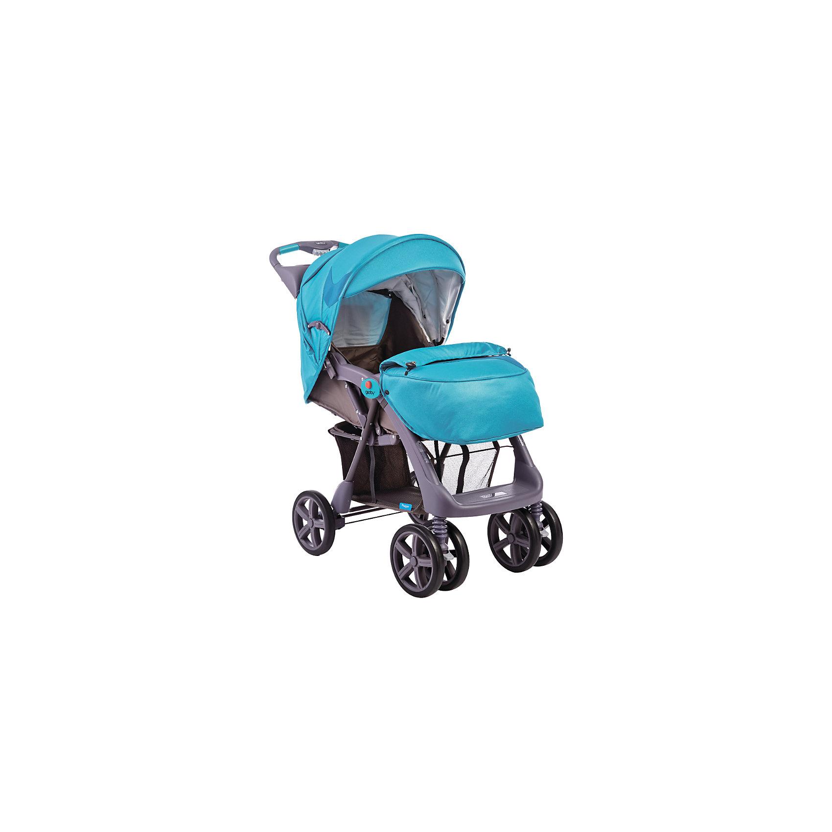 Прогулочная коляска C879CR (RPWL), Geoby, голубой