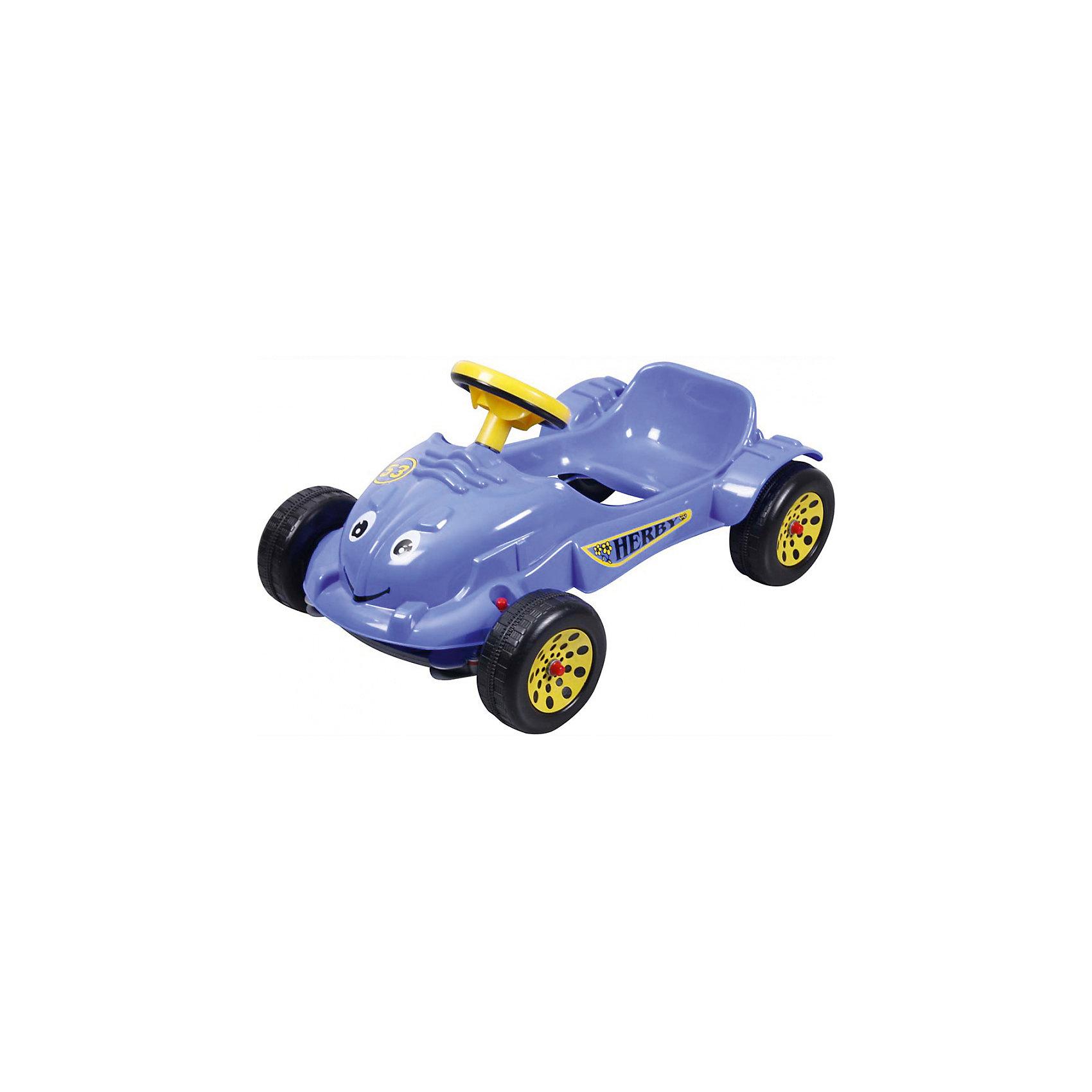 Педальная машина Herby Car, PILSANМашинки-каталки<br>Педальная машинка Herby Car Pilsan (Пилсан). <br>Педальная машинка Herby Car Pilsan (Пилсан) с приветливой улыбкой и большими добрыми глазами обрадует Вашего малыша. Педальный привод машинки  Herby Car Pilsan (Пилсан) дает ребенку необходимую физическую нагрузку, развивает координацию движений, укрепляет мышцы ног. В процессе игры развивается общая моторика, умение управлять своим телом. <br> Педальная машина Herby Car Pilsan (Пилсан) не зависит от батарей и других источников питания, что дает большую свободу в использовании. Благодаря низкой посадке, машина более устойчива. <br> Машина Herby Car Pilsan (Пилсан) очень проста и легка в эксплуатации, поэтому,  малыш сможет кататься на ней самостоятельно. Ваш ребенок почувствует себя настоящим водителем. Эта симпатичная и надежная машинка идеально подходит для прогулок по городу или во дворе, а также и для игры в помещении. <br>Дополнительная информация:<br>-Вес – 4.08 кг; <br>-Материал : высококачественный пластик;<br>-Механический гудок;<br>-Ширина: 53 см;<br>-Длина: 73 см;<br>-Высота: 42 см;<br>-Максимальная нагрузка: 20 кг.<br><br>Педальную машину Herby Car Pilsan (Пилсан) можно купить в нашем интернет - магазине.<br><br>Ширина мм: 1000<br>Глубина мм: 1000<br>Высота мм: 1000<br>Вес г: 16400<br>Возраст от месяцев: 24<br>Возраст до месяцев: 48<br>Пол: Унисекс<br>Возраст: Детский<br>SKU: 4789537