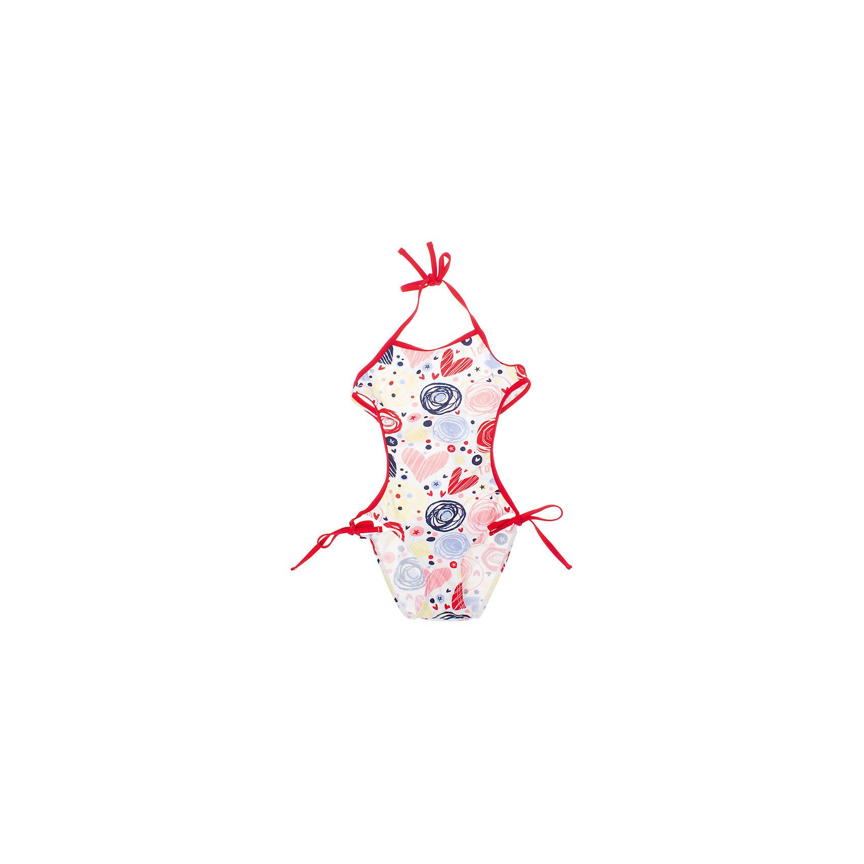 PlayToday Купальник для девочки PlayToday купальник слитный для девочки playtoday baby солнечная палитра цвет розовый 188077 размер 98