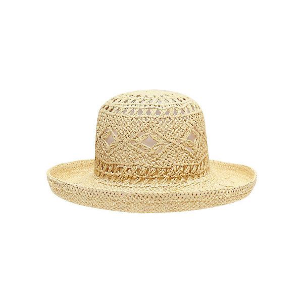 Шляпа для девочки PlayTodayЛетние<br>Шляпа для девочки от известного бренда PlayToday<br>Стильная соломенная шляпа надежно защитит от жаркого солнца и дополнит женственный образ.<br>Состав:<br>100% целлюлоза<br>Ширина мм: 89; Глубина мм: 117; Высота мм: 44; Вес г: 155; Цвет: желтый; Возраст от месяцев: 24; Возраст до месяцев: 36; Пол: Женский; Возраст: Детский; Размер: 50,54,52; SKU: 4789851;