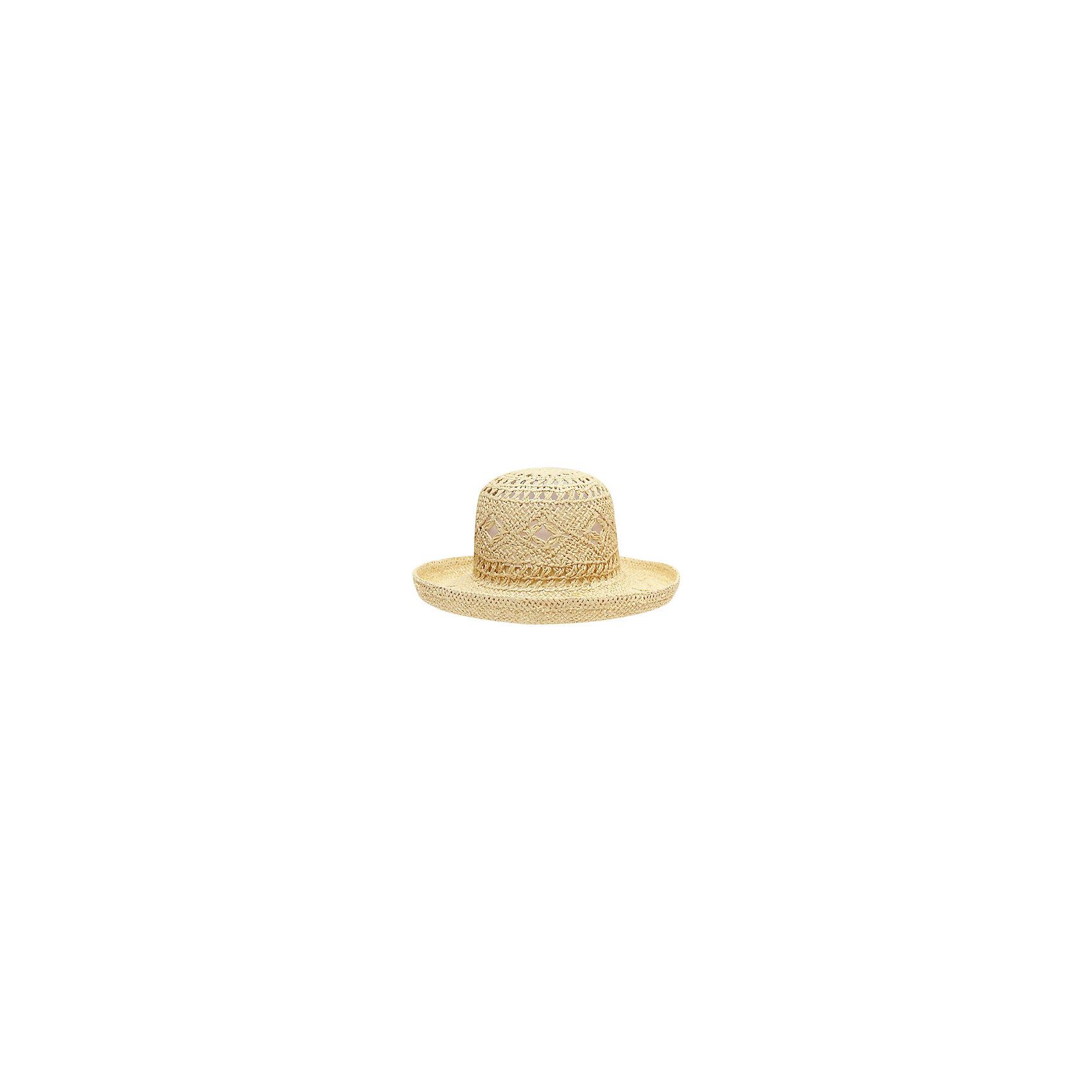 Шляпа для девочки PlayTodayШляпа для девочки от известного бренда PlayToday<br>Стильная соломенная шляпа надежно защитит от жаркого солнца и дополнит женственный образ.<br>Состав:<br>100% целлюлоза<br><br>Ширина мм: 89<br>Глубина мм: 117<br>Высота мм: 44<br>Вес г: 155<br>Цвет: желтый<br>Возраст от месяцев: 72<br>Возраст до месяцев: 84<br>Пол: Женский<br>Возраст: Детский<br>Размер: 54,50,52<br>SKU: 4789851
