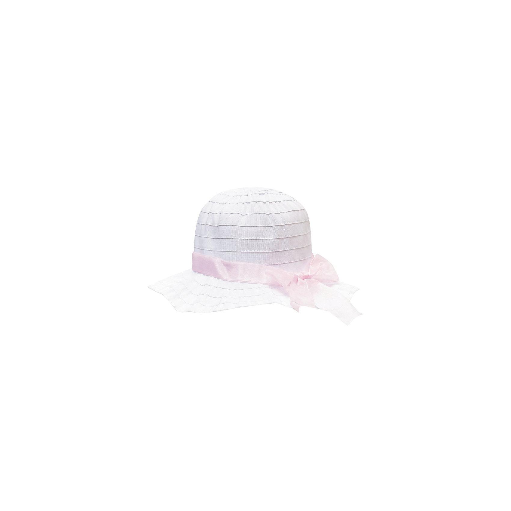 Панама для девочки PlayTodayЛетние<br>Панама для девочки от известного бренда PlayToday<br>Нежная панамка с розовым атласным бантиком. Защитит ребенка от жаркого солнца и создаст женственный образ.<br>Состав:<br>100% полиэстер<br><br>Ширина мм: 89<br>Глубина мм: 117<br>Высота мм: 44<br>Вес г: 155<br>Цвет: белый<br>Возраст от месяцев: 24<br>Возраст до месяцев: 36<br>Пол: Женский<br>Возраст: Детский<br>Размер: 50,54,52<br>SKU: 4789855