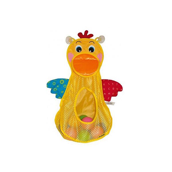 Голодный пеликан с мячиками, Ks KidsИгрушки для ванной<br>Голодный пеликан с мячиками, Ks Kids (Кс Кидс) ? увлекательная игрушка для купания. В комплект входит сетка в форме пеликана и 10 ярких разноцветных мячиков разного размера. Предусмотренные две присоски на тыльной стороне пеликана позволят надежно закрепить сетку на поверхности ванны или на кафельной плитке. Вашему малышу обязательно понравится отлавливать мячики в воде и «кормить» голодную птичку. <br>Игрушку  «Голодный пеликан с мячиками», Ks Kids (Кс Кидс) можно использовать в качестве хранения ванных принадлежностей и других игрушек, так как ее размер достаточно вместительный.<br>Голодный пеликан с мячиками, Ks Kids (Кс Кидс) развивает ловкость, точность движений, внимательность, учит терпеливо достигать своей цели.<br><br>Дополнительная информация:<br><br>- Вид игр: игры в воде<br>- Предназначение: для ванной, для бассейна, для улицы<br>- Материал: водоотталкивающий текстиль, пластик<br>- Размер: 126*7,5*28 см<br>- Вес: 417 г<br>- Комплектация: сетка-пеликан, 10 мячиков<br>- Особенности ухода: разрешается деликатная стирка, мячики можно мыть в мыльной воде<br><br>Подробнее:<br><br>• Для детей в возрасте: от 1 года до 3 лет<br>• Страна производитель: Китай<br>• Торговый бренд: Ks Kids<br><br>Голодного пеликана с мячиками, Ks Kids (Кс Кидс) можно купить в нашем интернет-магазине.<br><br>Ширина мм: 260<br>Глубина мм: 280<br>Высота мм: 75<br>Вес г: 417<br>Возраст от месяцев: 12<br>Возраст до месяцев: 36<br>Пол: Унисекс<br>Возраст: Детский<br>SKU: 4790453