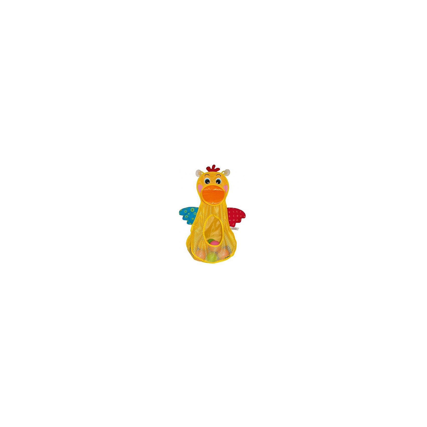 Голодный пеликан с мячиками, Ks KidsРазвивающие игрушки<br>Голодный пеликан с мячиками, Ks Kids (Кс Кидс) ? увлекательная игрушка для купания. В комплект входит сетка в форме пеликана и 10 ярких разноцветных мячиков разного размера. Предусмотренные две присоски на тыльной стороне пеликана позволят надежно закрепить сетку на поверхности ванны или на кафельной плитке. Вашему малышу обязательно понравится отлавливать мячики в воде и «кормить» голодную птичку. <br>Игрушку  «Голодный пеликан с мячиками», Ks Kids (Кс Кидс) можно использовать в качестве хранения ванных принадлежностей и других игрушек, так как ее размер достаточно вместительный.<br>Голодный пеликан с мячиками, Ks Kids (Кс Кидс) развивает ловкость, точность движений, внимательность, учит терпеливо достигать своей цели.<br><br>Дополнительная информация:<br><br>- Вид игр: игры в воде<br>- Предназначение: для ванной, для бассейна, для улицы<br>- Материал: водоотталкивающий текстиль, пластик<br>- Размер: 126*7,5*28 см<br>- Вес: 417 г<br>- Комплектация: сетка-пеликан, 10 мячиков<br>- Особенности ухода: разрешается деликатная стирка, мячики можно мыть в мыльной воде<br><br>Подробнее:<br><br>• Для детей в возрасте: от 1 года до 3 лет<br>• Страна производитель: Китай<br>• Торговый бренд: Ks Kids<br><br>Голодного пеликана с мячиками, Ks Kids (Кс Кидс) можно купить в нашем интернет-магазине.<br><br>Ширина мм: 260<br>Глубина мм: 280<br>Высота мм: 75<br>Вес г: 417<br>Возраст от месяцев: 12<br>Возраст до месяцев: 36<br>Пол: Унисекс<br>Возраст: Детский<br>SKU: 4790453