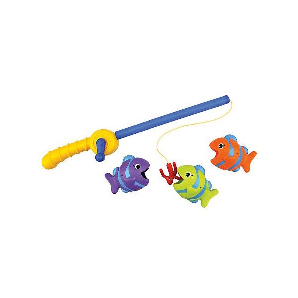 Время рыбалки, Ks KidsИгрушки для ванной<br>Время рыбалки, Ks Kids (Кс Кидс) сделает купание малыша настоящим событием. Теперь ваш ребенок не просто идет купаться, он идет на рыбалку! А чтобы рыбалка была удачной, необходима удочка. Удочка от Кс Кидс имитирует настоящую: у нее есть удобная ручка, катушка и настоящий крючок. В комплекте к удочке прилагаются три яркие разноцветные рыбки, ротики у рыбок широко открыты, чтобы без труда их можно было поймать на крючок. <br>Время рыбалки, Ks Kids (Кс Кидс) развивает у ребенка координацию движений, ловкость рук. Игрушку можно использовать не только для игр в воде, но и на суше. Рыбалка обучает малыша усидчивости и терпению.<br><br>Дополнительная информация:<br><br>- Вид игр: игры в воде, сюжетно-ролевая игра<br>- Предназначение: для ванной, для бассейна<br>- Материал: качественный пластик<br>- Размер: длина удочки 35 см, размер каждой рыбки 8*6*5 см<br>- Вес: 433 г<br>- Комплектация: удочка, 3 рыбки<br>- Особенности ухода:  можно мыть в мыльной воде<br><br>Подробнее:<br><br>• Для детей в возрасте: от 1 года до 3 лет<br>• Страна производитель: Китай<br>• Торговый бренд: Ks Kids<br><br>Время рыбалки, Ks Kids (Кс Кидс) можно купить в нашем интернет-магазине.<br><br>Ширина мм: 290<br>Глубина мм: 262<br>Высота мм: 73<br>Вес г: 433<br>Возраст от месяцев: 12<br>Возраст до месяцев: 36<br>Пол: Унисекс<br>Возраст: Детский<br>SKU: 4790454