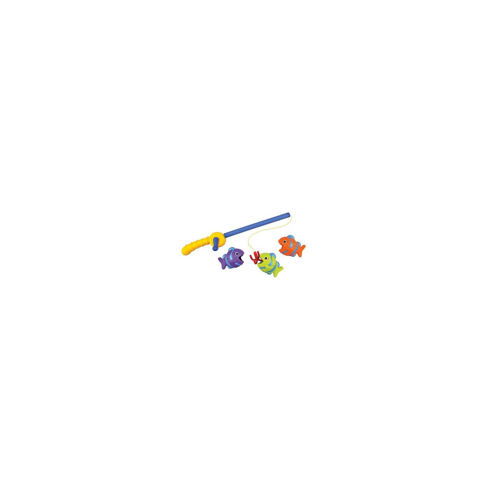 Время рыбалки, Ks KidsРазвивающие игрушки<br>Время рыбалки, Ks Kids (Кс Кидс) сделает купание малыша настоящим событием. Теперь ваш ребенок не просто идет купаться, он идет на рыбалку! А чтобы рыбалка была удачной, необходима удочка. Удочка от Кс Кидс имитирует настоящую: у нее есть удобная ручка, катушка и настоящий крючок. В комплекте к удочке прилагаются три яркие разноцветные рыбки, ротики у рыбок широко открыты, чтобы без труда их можно было поймать на крючок. <br>Время рыбалки, Ks Kids (Кс Кидс) развивает у ребенка координацию движений, ловкость рук. Игрушку можно использовать не только для игр в воде, но и на суше. Рыбалка обучает малыша усидчивости и терпению.<br><br>Дополнительная информация:<br><br>- Вид игр: игры в воде, сюжетно-ролевая игра<br>- Предназначение: для ванной, для бассейна<br>- Материал: качественный пластик<br>- Размер: длина удочки 35 см, размер каждой рыбки 8*6*5 см<br>- Вес: 433 г<br>- Комплектация: удочка, 3 рыбки<br>- Особенности ухода:  можно мыть в мыльной воде<br><br>Подробнее:<br><br>• Для детей в возрасте: от 1 года до 3 лет<br>• Страна производитель: Китай<br>• Торговый бренд: Ks Kids<br><br>Время рыбалки, Ks Kids (Кс Кидс) можно купить в нашем интернет-магазине.<br><br>Ширина мм: 290<br>Глубина мм: 262<br>Высота мм: 73<br>Вес г: 433<br>Возраст от месяцев: 12<br>Возраст до месяцев: 36<br>Пол: Унисекс<br>Возраст: Детский<br>SKU: 4790454