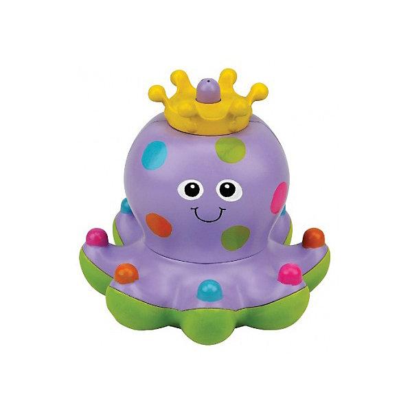 Осьминожка Клёпа, Ks KidsИгрушки для ванной<br>Осьминожка Клёпа, Ks Kids ? новинка 2016 года, предназначенная для детей от года и старше сделает купание вашего ребенка невероятно увлекательным. Очаровательная осьминожка Клепа ? царица водной стихии, на голове у нее яркая корона. Она умеет плавать по поверхности воды, но ее самое главное умение ? запускать фонтанчики. При запуске струек воды Клепа «танцует» ? кружится на поверхности воды.<br>Изготовленная из качественного пластика с яркими горохами по всему телу, Клепа научит малыша различать цвета, а края щупалец, увенчанные разноцветными шариками, позволят развивать тактильные ощущения и координацию движений.<br> Осьминожка Клёпа, Ks Kids станет эксклюзивным подарком для любого малыша!<br><br>Дополнительная информация:<br><br>- Вид игр: игры в воде<br>- Предназначение: для ванной, для бассейна<br>- Батарейки: 2 батарейки АА (не входят в набор)<br>- Материал: качественный пластик<br>- Размер: 13*12 см<br>- Вес: 392 г<br>- Особенности ухода: разрешается мыть в мыльной воде, предварительно достав батарейки<br><br>Подробнее:<br><br>• Для детей в возрасте: от 1 года до 3 лет<br>• Страна производитель: Китай<br>• Торговый бренд: Ks Kids<br><br>Осьминожку Клёпу, Ks Kids (Кс Кидс) можно купить в нашем интернет-магазине.<br><br>Ширина мм: 180<br>Глубина мм: 180<br>Высота мм: 135<br>Вес г: 392<br>Возраст от месяцев: 12<br>Возраст до месяцев: 36<br>Пол: Унисекс<br>Возраст: Детский<br>SKU: 4790455