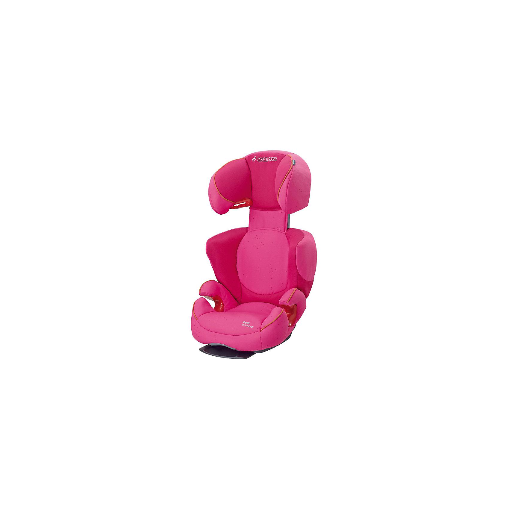 Автокресло Rodi Fix Airprotect, 15-36 кг., Maxi-Cosi, Black RavenАвтокресло Rodi Fix - прекрасный вариант для путешествий с уже подросшими детьми. Кресло монтируется при помощи системы Isofix, после чего ребенок фиксируется штатными ремнями автомобиля. Воздушная подушка, встроенная в подголовник, делает эту модель максимально комфортной и безопасной. Уникальная технология AirProtect смягчает действие удара, оптимально защищая голову и шею. Кресло имеет удобный подголовник, регулируемый в 8 положениях и 2 режима наклона спинки для приятных и комфортных путешествий. Чехол выполнен из стойкого к загрязнениям, прочного и приятного на ощупь материала, быстро и удобно снимается, его можно стирать в режиме деликатной стирки.<br><br>Дополнительная информация:<br><br>- Материал: текстиль, пластик, металл.<br>- Растет в длину и ширину вместе с вашим ребенком.<br>- Максимальная ширина сиденья по бедрам: 27 см.<br>- Ширина сиденья по голове: 48 см.<br>- Ширина под голову: 40 см.<br>- Длина спинки (внутри): 32-52 см.<br>- Максимальная глубина внутри сиденья: 33 см.;<br>- Высота: 57-76 см.<br>- Общая длина: 66-83 см.<br>- Вес: 6.6 кг.<br>- Крепление в автомобиле: система Isofix.<br>- Ребенок пристегивается автомобильным ремнем. <br>- Ремень безопасности удерживается практичными крючками.<br>- Технология AirProtect.<br>- Дополнительная защита от боковых ударов.<br>- Соответствует требованиям ECE-R44/04<br>- Группа 2/3 (15-36 кг; от 3,5 до 12 лет).<br>- Устанавливается по ходу движения. <br>- Регулировка наклона спинки (в 2 положениях).<br>- Регулируемый подголовник (в 8 положениях)<br>- Съемные чехлы (можно стирать в деликатном режиме). <br><br>Автокресло Rodi Fix Airprotect, 15-36 кг., Maxi-Cosi (Макси-Коси Роди Фикс), Black Raven, можно купить в нашем магазине.<br><br>Ширина мм: 490<br>Глубина мм: 635<br>Высота мм: 510<br>Вес г: 4900<br>Возраст от месяцев: 48<br>Возраст до месяцев: 144<br>Пол: Унисекс<br>Возраст: Детский<br>SKU: 4790749