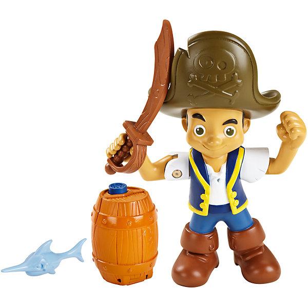 Большая фигурка героя, с аксессуарами, Джейк и пираты НетландииПираты<br>Играть с фигурками персонажей из любимого мультфильма - всегда веселее! Игрушка имеет такой размер, при котором ребенку удобно держать её в руках, а также брать с собой в гости или на прогулку. Фигурка пирата дополнена необходимыми аксессуарами. Ручки и голова подвижны, в руки можно вложить аксессуар, входящий в набор.<br>Такие игрушки помогают развить мелкую моторику, логическое мышление и воображение ребенка. Эта игрушка выполнена из высококачественного прочного пластика, безопасного для детей, отлично детализирована.<br><br>Дополнительная информация:<br><br>комплектация: фигурка, аксессуары; <br>цвет: разноцветный;<br>материал: пластик;<br>размер упаковки: 23х5 см;<br>высота фигурки: 12,5.<br><br>Большую фигурку героя, с аксессуарами, Джейк и пираты Нетландии от компании Mattel можно купить в нашем магазине.<br><br>Ширина мм: 230<br>Глубина мм: 50<br>Высота мм: 290<br>Вес г: 290<br>Возраст от месяцев: 36<br>Возраст до месяцев: 108<br>Пол: Мужской<br>Возраст: Детский<br>SKU: 4791068