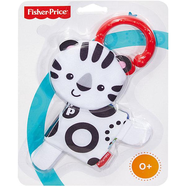 Мягкая книжка, Fisher-PriceКнижки-игрушки<br>Отличный подарок ребенку - Мягкие книжки от Fisher-Price. Они сделаны в виде зверей  - это игрушечный друг из плюша и красочно иллюстрированная книжка одновременно! Книжка состоит из мягких шуршащих страниц, которые малыш может переворачивать, в ней есть «дневные» и «ночные» картинки. Благодаря кольцу игрушку можно цеплять и брать с собой куда угодно. Она - небольшого размера и весит совсем немного. <br>Игрушка имеет такой размер, при котором ребенку удобно держать её в руках, а также брать с собой в гости или на прогулку. Такие игрушки помогают развить мелкую моторику, логическое мышление и воображение ребенка, а также познавать окружающий мир. Эта игрушка выполнена из высококачественного материала, безопасного для детей.<br>  <br>Дополнительная информация:<br><br>цвет: разноцветный;<br>материал: пластик, текстиль;<br>комплектация: с кольцом-держателем;<br>размер упаковки: 16,5х23х2,5 см;<br>вес: 83 г.<br><br>Мягкие книжки Fisher-Price от компании Mattel можно купить в нашем магазине.<br><br>Ширина мм: 25<br>Глубина мм: 165<br>Высота мм: 230<br>Вес г: 83<br>Возраст от месяцев: 0<br>Возраст до месяцев: 18<br>Пол: Унисекс<br>Возраст: Детский<br>SKU: 4791098