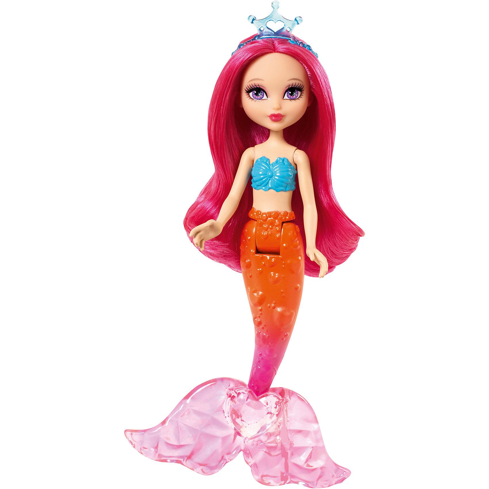 Русалочка, BarbieБарби Русалочка - это очень красивая кукла в с блестящими длинными волосами, которые можно расчесывать. У кукол подвижные руки, хвост, а голова поворачивается из стороны в сторону. Это отличный вариант подарка для любительницы кукол Барби. <br>Такие игрушки помогают развить мелкую моторику, логическое мышление и воображение ребенка. Эта игрушка выполнена из высококачественного прочного пластика, безопасного для детей, отлично детализирована.<br><br>Дополнительная информация:<br><br>цвет: разноцветный;<br>материал: пластик;<br>высота: 15 см;<br>размер упаковки: 21,5 x 12,5 x 4,5 см ;<br>вес: 135 г.<br><br>Куклу Русалочка, Barbie от компании Mattel можно купить в нашем магазине.<br><br>Ширина мм: 215<br>Глубина мм: 125<br>Высота мм: 45<br>Вес г: 135<br>Возраст от месяцев: 36<br>Возраст до месяцев: 72<br>Пол: Женский<br>Возраст: Детский<br>SKU: 4791104
