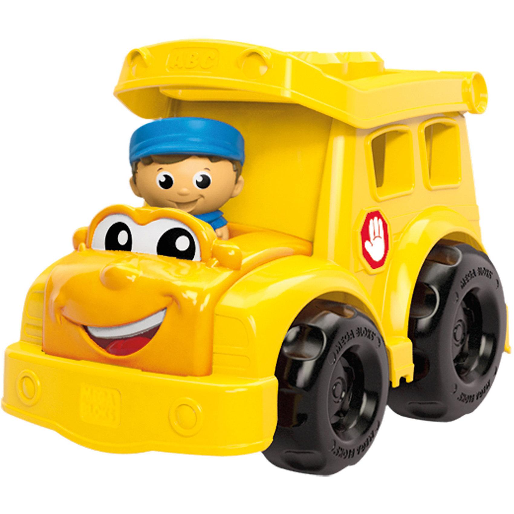 Машинка MEGA BLOKS First BuildersПластмассовые конструкторы<br>Машинка MEGA BLOKS First Builders - отличный подарок ребенку. Это красочная развивающая игрушка, которая обязательно понравится малышу. Она выполнена в виде яркой машинки с веселым лицом. Игрушка с крупными деталями идеально подходит для маленьких ручек малыша. В комплект помимо машинки входят 6 деталей-блоков First Builders, которые можно установить в верхней части автомобиля, и фигурка водителя. Набор совместим с другими наборами серии First Builders.<br><br><br>Такие игрушки помогают развить мелкую моторику, логическое мышление и воображение ребенка. Эта игрушка выполнена из высококачественного прочного пластика, безопасного для детей.<br>  <br>Дополнительная информация:<br><br>комплектация: комплекте: машинка, 6 деталей, фигурка водителя;<br>материал: пластик;<br>размер упаковки: 24,1 x 16,5 x 17,8 см;<br>вес: 530 г.<br><br>Машинку MEGA BLOKS First Builders от компании Mattel можно купить в нашем магазине.<br><br>Ширина мм: 180<br>Глубина мм: 240<br>Высота мм: 165<br>Вес г: 540<br>Возраст от месяцев: 12<br>Возраст до месяцев: 72<br>Пол: Унисекс<br>Возраст: Детский<br>SKU: 4791126
