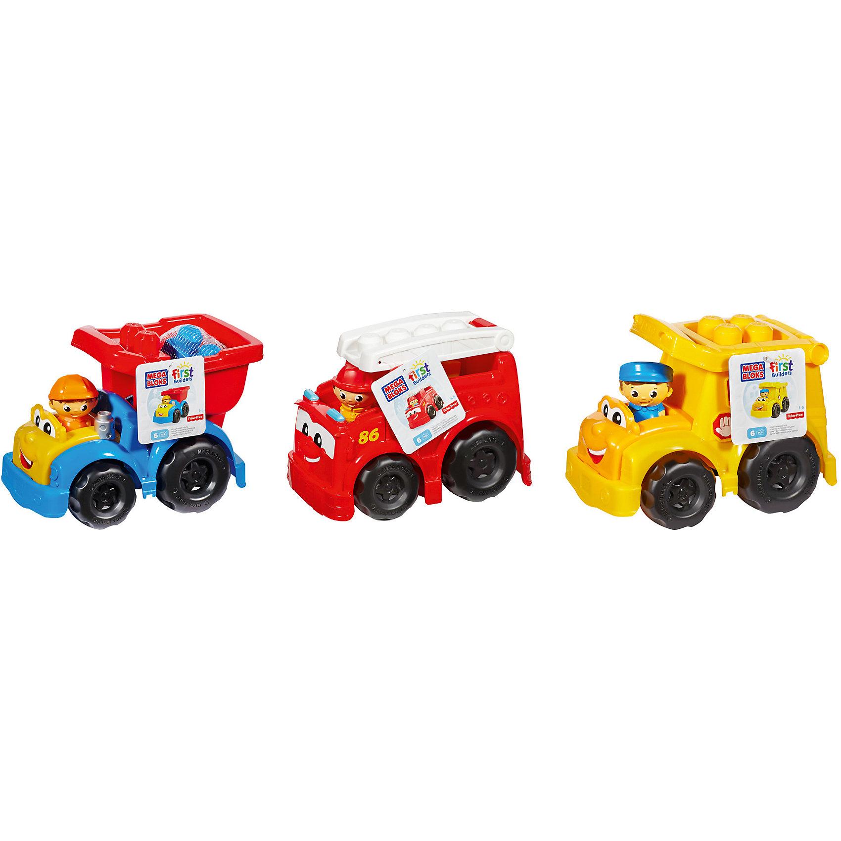 Маленькая машинка First Builders MEGA BLOKSМашинка MEGA BLOKS First Builders - отличный подарок ребенку. Это красочная игрушка, которая обязательно понравится малышу. Она выполнена в виде яркой машинки. Можно собрать их все!<br>Такие игрушки помогают развить мелкую моторику, логическое мышление и воображение ребенка. Эта игрушка выполнена из высококачественного прочного пластика, безопасного для детей.<br>  <br>Дополнительная информация:<br><br>цвет: разноцветный;<br>материал: пластик;<br>комплектация: 6 деталей;<br>размер упаковки: 18х24х16,5 см.<br><br>Маленькую  машинку First Builders MEGA BLOKS от компании Mattel можно купить в нашем магазине.<br><br>Ширина мм: 165<br>Глубина мм: 240<br>Высота мм: 180<br>Вес г: 540<br>Возраст от месяцев: 12<br>Возраст до месяцев: 60<br>Пол: Мужской<br>Возраст: Детский<br>SKU: 4791146