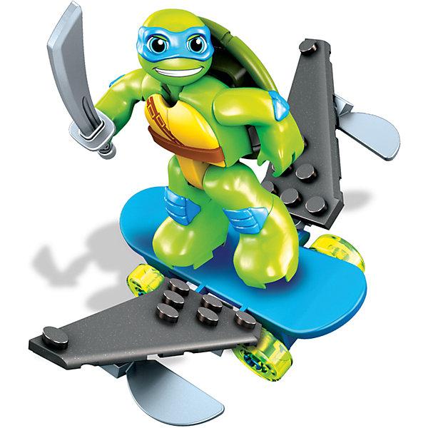 Фигурка со скейтбордом MEGA BLOKS, Черепашки НиндзяПластмассовые конструкторы<br>Играть с фигурками персонажей из любимого мультфильма - всегда веселее! В этом наборе - фигурка черепашки-нидзя и скейт для него. Игрушка имеет такой размер, при котором ребенку удобно держать её в руках, а также брать с собой в гости или на прогулку. Продается в красивой тематической упаковке. <br>Такие игрушки помогают развить мелкую моторику, логическое мышление и воображение ребенка. Эта игрушка выполнена из высококачественного прочного пластика, безопасного для детей, отлично детализирована.<br><br>Дополнительная информация:<br><br>комплектация: 1 фигурка, 1 скейт; <br>цвет: разноцветный;<br>материал: пластик;<br>размер упаковки: 45?115х150 см.<br><br>Фигурку со скейтбордом MEGA BLOKS, Черепашки Ниндзя от компании Mattel можно купить в нашем магазине.<br>Ширина мм: 45; Глубина мм: 115; Высота мм: 150; Вес г: 135; Возраст от месяцев: 60; Возраст до месяцев: 120; Пол: Мужской; Возраст: Детский; SKU: 4791156;