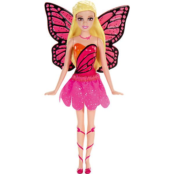 Сказочная мини-кукла, BarbieБренды кукол<br>Характеристики:<br><br>• возраст: от 3 лет;<br>• материал: пластик, текстиль;<br>• высота куклы: 10 см;<br>• вес упаковки: 40 гр.;<br>• размер упаковки: 3х9х13 см;<br>• страна бренда: США.<br><br>Сказочная мини-кукла Barbie одета в очаровательный красочный наряд, напоминающий одежду жителей волшебной страны. Отличительной особенностью куколки являются резиновые волосы. Благодаря размеру и материалам, из которых сделана игрушка, ее удобно брать с собой. В волосах не оседает пыль, куклу удобно мыть, она устойчива к механическим повреждениям.<br><br>Ножки, ручки и голова двигаются. Игрушка выполнена из качественных безопасных материалов.<br><br>Сказочную мини-куклу, Barbie можно купить в нашем интернет-магазине.<br>Ширина мм: 30; Глубина мм: 90; Высота мм: 130; Вес г: 49; Возраст от месяцев: 36; Возраст до месяцев: 96; Пол: Женский; Возраст: Детский; SKU: 4791160;
