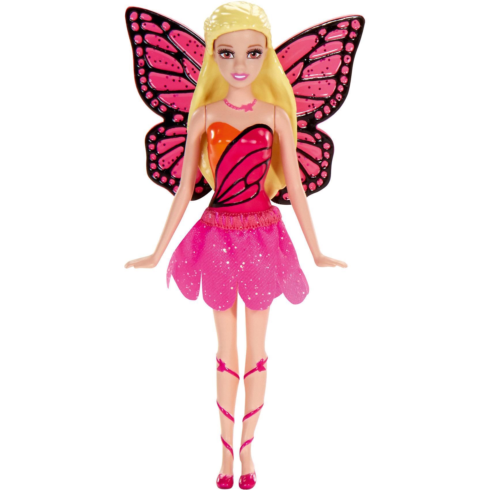 Сказочная мини-кукла, BarbieBarbie<br>Сказочная мини-кукла Барби - отличный вариант подарка для любительницы этих кукол. Продается игрушка в красивой тематической упаковке. Она очень волшебно выглядит! Это - сказочная принцесса, которых обожают все девочки.<br>Такие игрушки помогают развить мелкую моторику, логическое мышление и воображение ребенка. Игры с куклами помогают девочкам проходить социализацию и прививают чувство вкуса. Эта игрушка выполнена из текстиля и высококачественного прочного пластика, безопасного для детей, отлично детализирована.<br><br>Дополнительная информация:<br> <br>цвет: разноцветный;<br>материал: пластик, волосы - резина;<br>размер упаковки: 30?90х130 см.<br><br>Сказочную мини-куклу, Barbie от компании Mattel можно купить в нашем магазине.<br><br>Ширина мм: 30<br>Глубина мм: 90<br>Высота мм: 130<br>Вес г: 49<br>Возраст от месяцев: 36<br>Возраст до месяцев: 96<br>Пол: Женский<br>Возраст: Детский<br>SKU: 4791160