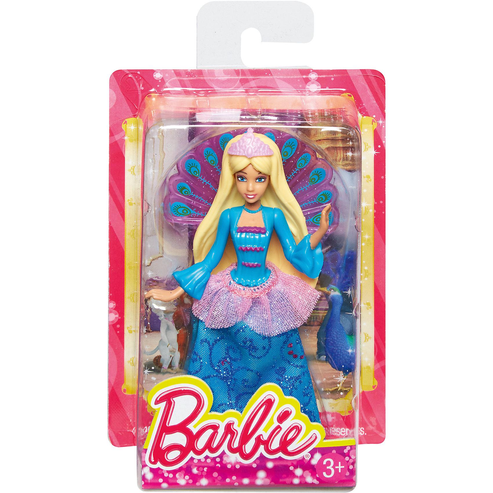 Сказочная мини-кукла, BarbieПопулярные игрушки<br>Сказочная мини-кукла Барби - отличный вариант подарка для любительницы этих кукол. Продается игрушка в красивой тематической упаковке. Она очень волшебно выглядит! Это - сказочная принцесса, которых обожают все девочки.<br>Такие игрушки помогают развить мелкую моторику, логическое мышление и воображение ребенка. Игры с куклами помогают девочкам проходить социализацию и прививают чувство вкуса. Эта игрушка выполнена из текстиля и высококачественного прочного пластика, безопасного для детей, отлично детализирована.<br><br>Дополнительная информация:<br> <br>цвет: разноцветный;<br>материал: пластик, волосы - резина;<br>размер упаковки: 30?90х130 см.<br><br>Сказочную мини-куклу, Barbie от компании Mattel можно купить в нашем магазине.<br><br>Ширина мм: 30<br>Глубина мм: 90<br>Высота мм: 130<br>Вес г: 49<br>Возраст от месяцев: 36<br>Возраст до месяцев: 96<br>Пол: Женский<br>Возраст: Детский<br>SKU: 4791161
