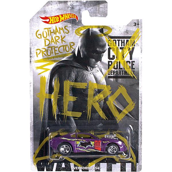 Машинка Бэтмен против Супермена, Hot WheelsМашинки<br>Отличный подарок для любителей комиксов Marvel про супергероев - машинки от Hot Wheels. Машинка представляет собой модель, вдохновленную новым фильмом Бэтмен против Супермена: На заре справедливости. Из машинок в масштабе 1:64 можно собрать коллекцию! Игрушка выполнена так, что с виду она кажется точной копией настоящей машины супергероя благодаря внимательному отношению к деталям. Колесики машинки вращаются.<br>Игрушка имеет такой размер, при котором ребенку удобно держать её в руках, а также брать с собой в гости или на прогулку. Такие игрушки помогают развить мелкую моторику, логическое мышление и воображение ребенка. Эта игрушка выполнена из высококачественного прочного пластика, безопасного для детей.<br>  <br>Дополнительная информация:<br><br>масштаб: 1:64; <br>размер упаковки: 35 х 110 х 165 мм; <br>цвет: разноцветный;<br>материал: пластик., металл;<br>вес: 58 г.<br><br>Машинку Бэтмен против Супермена, Hot Wheels от компании Mattel можно купить в нашем магазине.<br>Ширина мм: 35; Глубина мм: 110; Высота мм: 165; Вес г: 58; Возраст от месяцев: 48; Возраст до месяцев: 84; Пол: Мужской; Возраст: Детский; SKU: 4791164;