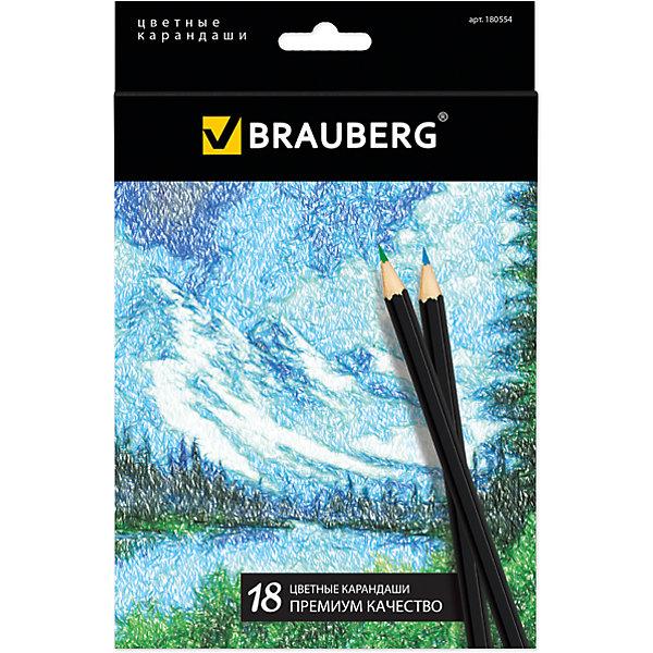 Цветные карандаши Artist line, 18 цв., BraubergЦветные<br>Набор включает 18 карандашей премиум качества. Блеск, яркость и необыкновенная гладкость грифелей, изготовленных по специальной формуле, отвечают наивысшим требованиям. Ценная порода древесины, из которой сделан карандаш, гарантирует легкую заточку.<br><br>Дополнительная информация: <br><br>- 18 цветов.<br>- Размер упаковки: 20х13,5х 0,8 см.<br>- Вес в упаковке: 128 г.<br><br>Цветные карандаши Artist line Brauberg, можно купить в нашем магазине.<br><br>Ширина мм: 200<br>Глубина мм: 135<br>Высота мм: 8<br>Вес г: 128<br>Возраст от месяцев: 72<br>Возраст до месяцев: 2147483647<br>Пол: Унисекс<br>Возраст: Детский<br>SKU: 4792665