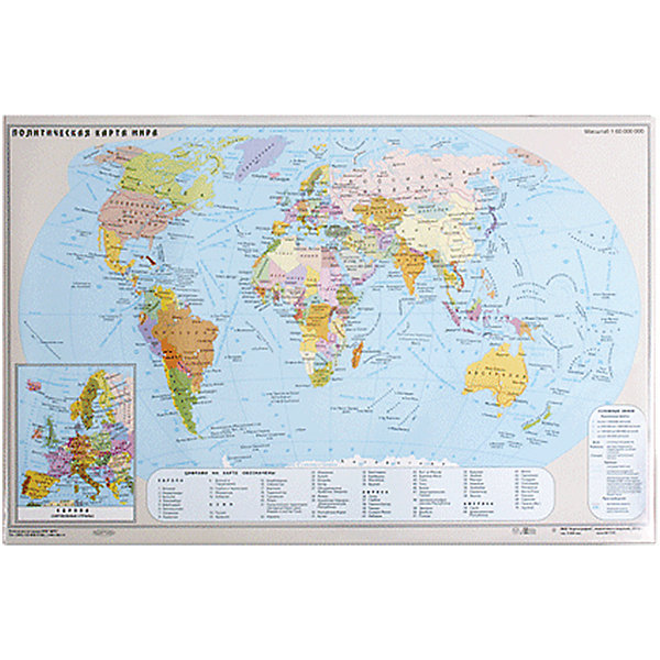 Настольный коврик-подкладка для письма с картой мираРисование и лепка<br>Настольное покрытие для письма придает столу аккуратный вид. Обеспечивает удобство при письме. Является хорошей защитой для стола от разного рода повреждений. Позволяет всегда иметь под рукой подробную карту мира.<br><br>Дополнительная информация:<br><br>- Размер: 38х59 см.<br>- Карта мира: на верхней поверхности.<br>- Размер упаковки: 38х58,3х0,1 см.<br>- Вес в упаковке: 470  г.<br><br>Настольный коврик-подкладку для письма с картой мира можно купить в нашем магазине.<br>Ширина мм: 380; Глубина мм: 583; Высота мм: 1; Вес г: 470; Возраст от месяцев: 72; Возраст до месяцев: 2147483647; Пол: Унисекс; Возраст: Детский; SKU: 4792684;