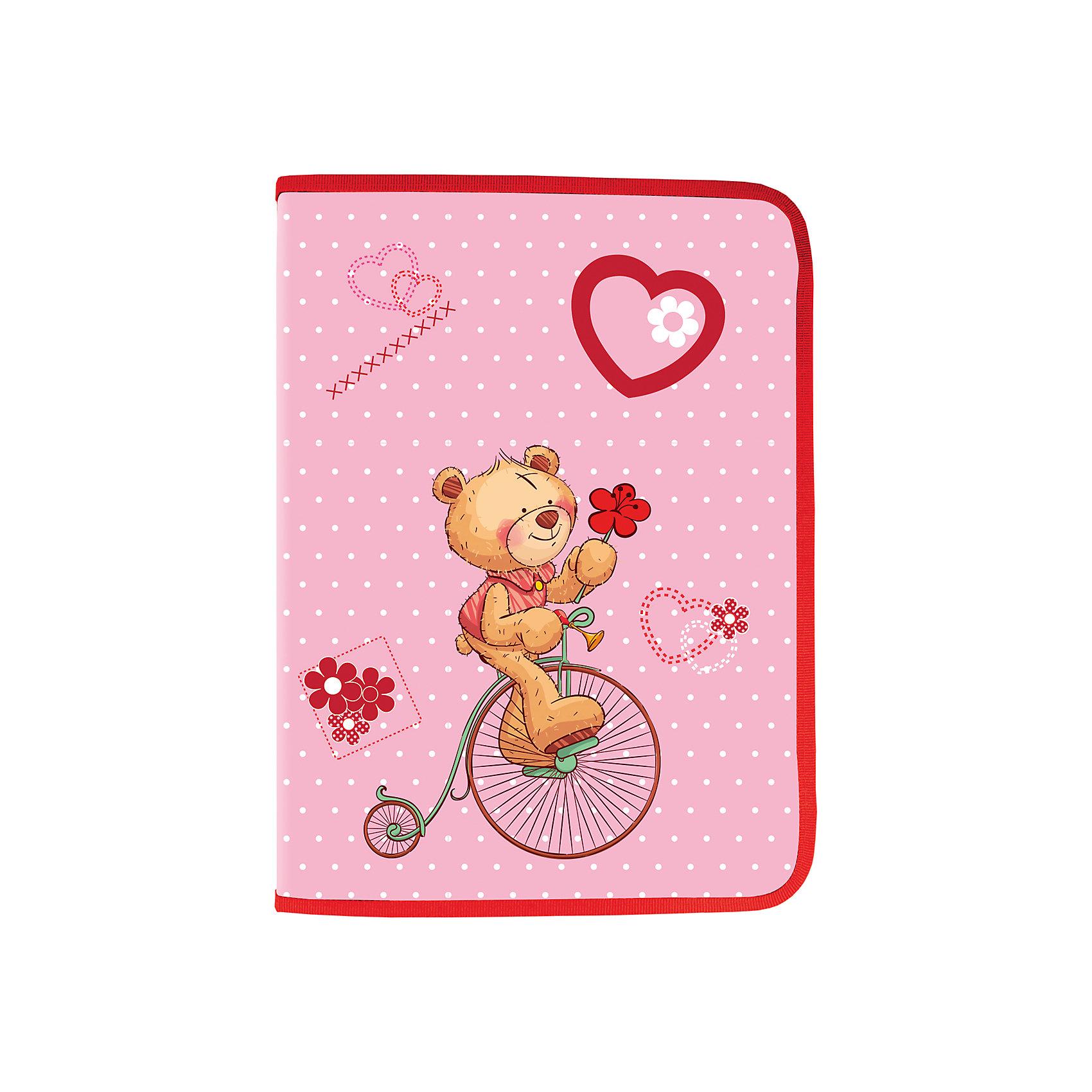 Папка для труда Мишка, А4Папки для труда<br>Папка для труда Мишка предназначена для девочек. Она выполнена в красно-розовом цвете и дополнена необычным принтом на карманах. Ваш ребенок с радостью будет пользоваться такой красивой папкой!<br><br>Дополнительная  информация: <br><br>- Формат А4 (330x230 мм).<br>- 1 отделение.<br>- Вкладыш для принадлежностей.<br>- Застежка-молния с трех сторон.<br>- Размер упаковки: 23,5х33х1,2 см.<br>- Вес в упаковке: 199 г. <br><br>Папку для труда Мишка можно купить в нашем магазине.<br><br>Ширина мм: 235<br>Глубина мм: 330<br>Высота мм: 12<br>Вес г: 199<br>Возраст от месяцев: 72<br>Возраст до месяцев: 2147483647<br>Пол: Унисекс<br>Возраст: Детский<br>SKU: 4792701