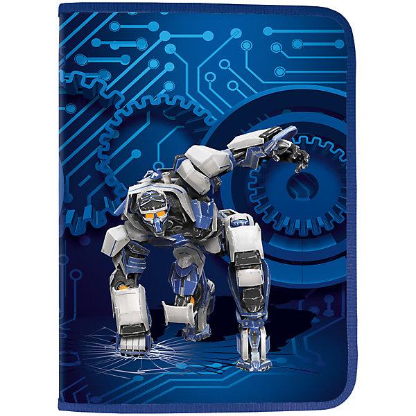 Папка для труда Brauberg Робот, А4Папки для труда<br>Характеристики товара:<br><br>• количество отделений: 1;<br>• формат: А4;<br>• размер: 33х23 см;<br>• возраст: от 7 лет;<br>• вкладыш для принадлежностей;<br>• застежка: молния;<br>• материал папки: пластик;<br>• цвет: синий;<br>• вес: 200 грамм;<br>• страна бренда: Германия;<br>• страна изготовитель: Китай.<br><br>Папка для труда «Машина» предназначена для мальчиков 7-10 лет, учеников начальных классов. Она сохранит все принадлежности чистыми и опрятными. Папка имеет одно отделение и дополнительный вкладыш с фиксаторами для канцелярских принадлежностей. Застегивается на молнию с трех сторон. Папка выполнена в синем цвете с изображением робота.<br><br>Папку для труда Brauberg (Брауберг), А4, пластик, молния вокруг, цв.печать, мальч., синяя, Робот, 225472 можно купить в нашем интернет-магазине.<br>Ширина мм: 235; Глубина мм: 330; Высота мм: 12; Вес г: 199; Возраст от месяцев: 72; Возраст до месяцев: 2147483647; Пол: Мужской; Возраст: Детский; SKU: 4792703;