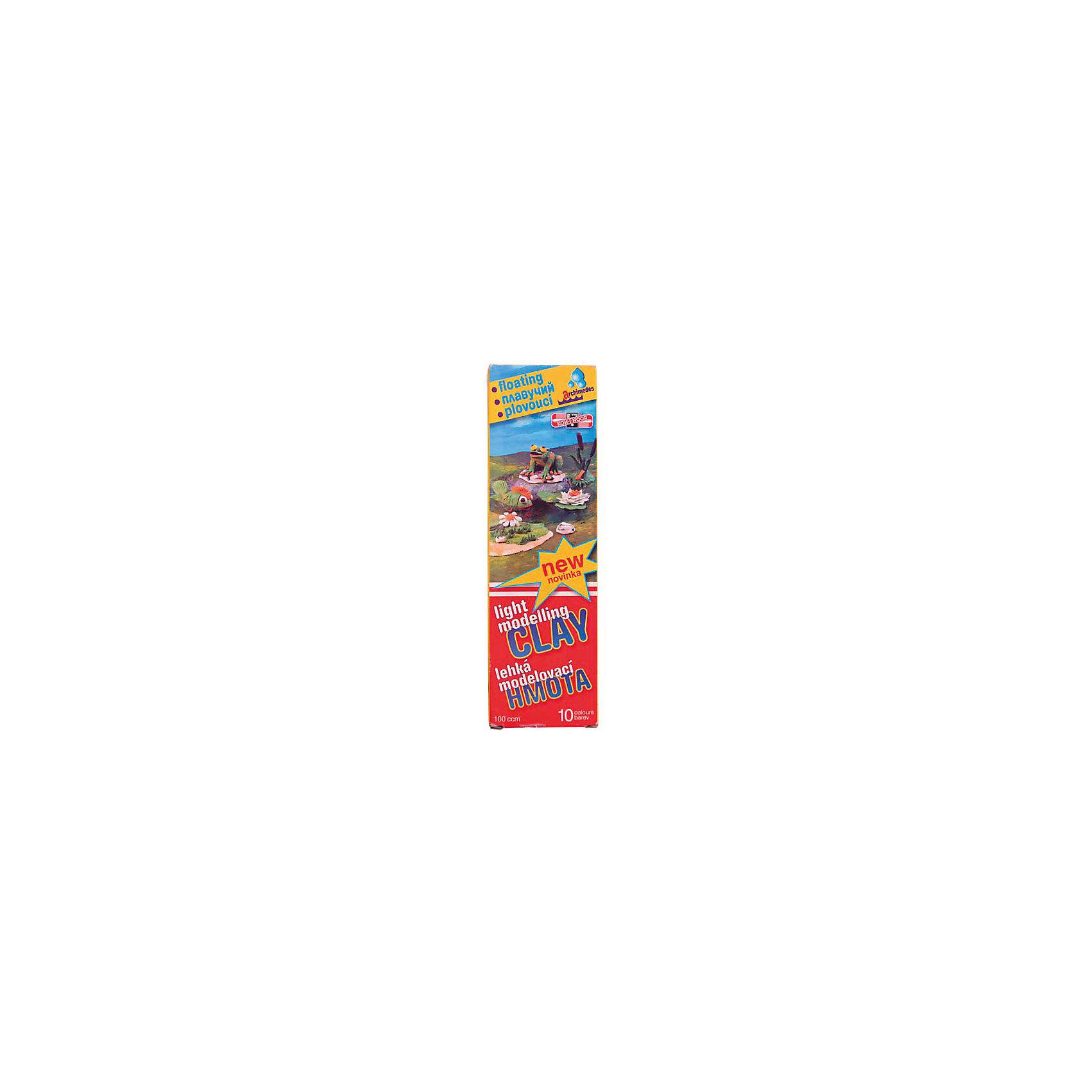 Пластилин Archimedes, KOH-I-NOORПлавающий чешский пластилин пользуется популярностью у школьников и дошкольников. Обладает высокой пластичностью, не имеет запаха и не липнет к рукам. Отличается яркими и насыщенными цветами. Отлично держится на воде благодаря легким наполнителям.<br><br>Дополнительная информация:<br><br>- 10 цветов.<br>- Масса - 90 г.<br>- Размер упаковки: 2,5х20,3х6 см.<br>- Вес в упаковке: 90 г. <br><br>Пластилин Archimedes KOH-I-NOOR  можно  купить в нашем магазине.<br><br>Ширина мм: 25<br>Глубина мм: 203<br>Высота мм: 60<br>Вес г: 90<br>Возраст от месяцев: 72<br>Возраст до месяцев: 2147483647<br>Пол: Унисекс<br>Возраст: Детский<br>SKU: 4792731
