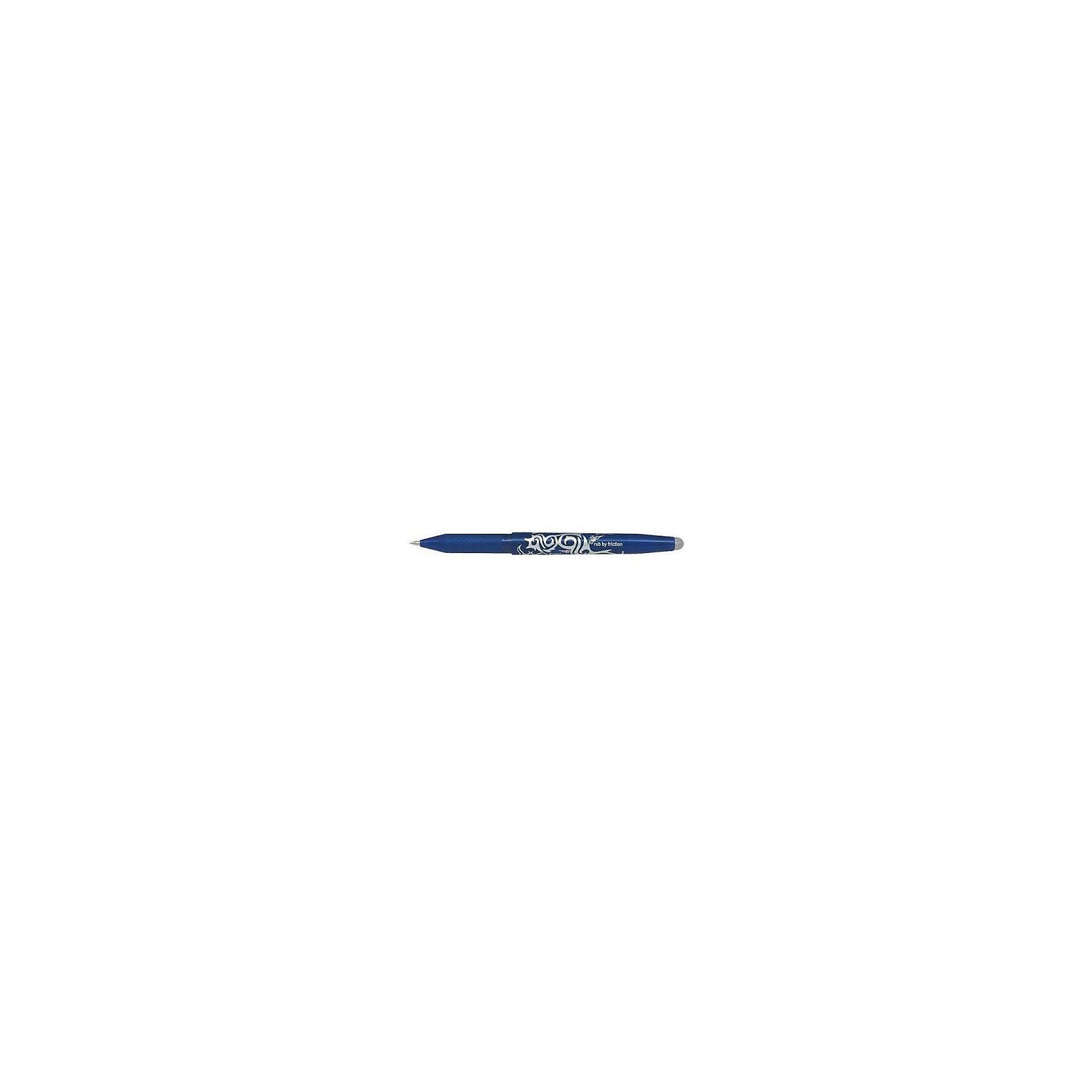 """Гелевая ручка Пиши-стирай, синяя, Frixion ProМистические чернила ручки """"Frixion"""" не исчезают и не стираются, а становятся бесцветными под воздействием температуры путем стирания резинкой, встроенной в ручку, или при нагревании листа бумаги выше +60 °С. Написанное можно восстановить при температуре ниже -18 °С. <br>Ваш ребенок будет в восторге от таких чудес!<br><br>Дополнительная информация: <br><br>- Цвет чернил - синий.<br>- Толщина письма - 0,35 мм.<br>- Диаметр шарика - 0,7 мм.<br>- Контактная зона для пальцев из мягкой резины с тиснением.<br>- Размер упаковки: 14,5х1,1х1,5 см.<br>- Вес в упаковке: 12 г.<br><br>Гелевую ручку Пиши-стирай Frixion Pro в синем цвете,   можно купить в нашем магазине.<br><br>Ширина мм: 145<br>Глубина мм: 11<br>Высота мм: 15<br>Вес г: 12<br>Возраст от месяцев: 72<br>Возраст до месяцев: 2147483647<br>Пол: Унисекс<br>Возраст: Детский<br>SKU: 4792751"""