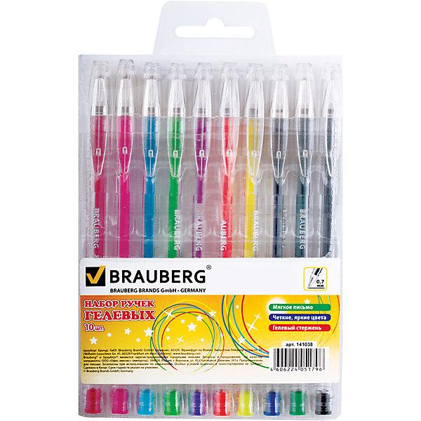 Гелевые ручкиJet, 10 шт., 0,7 ммПисьменные принадлежности<br>Набор включает яркие гелевые ручки различных цветов.  Ручки упакованы в удобный, мягкий пластиковый футляр.<br>Рекомендован для детского творчества.<br><br>Дополнительная информация: <br><br>- Цвет чернил - ассорти.<br>- Цвет корпуса - прозрачный с деталями в цвет чернил.<br>- Толщина линии - 0,7 мм.<br>- Упаковка - мягкий пластиковый футляр с европодвесом.<br>- Размер упаковки: 11,5х15,5х1,5 см.<br>- Вес в упаковке: 103 г.<br><br>Гелевые ручкиJet можно купить в нашем магазине.<br>Ширина мм: 115; Глубина мм: 155; Высота мм: 15; Вес г: 103; Возраст от месяцев: 72; Возраст до месяцев: 2147483647; Пол: Унисекс; Возраст: Детский; SKU: 4792754;