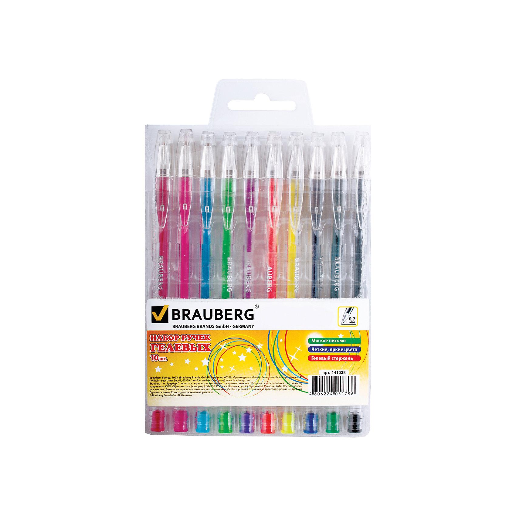 Гелевые ручкиJet, 10 шт., 0,7 ммНабор включает яркие гелевые ручки различных цветов.  Ручки упакованы в удобный, мягкий пластиковый футляр.<br>Рекомендован для детского творчества.<br><br>Дополнительная информация: <br><br>- Цвет чернил - ассорти.<br>- Цвет корпуса - прозрачный с деталями в цвет чернил.<br>- Толщина линии - 0,7 мм.<br>- Упаковка - мягкий пластиковый футляр с европодвесом.<br>- Размер упаковки: 11,5х15,5х1,5 см.<br>- Вес в упаковке: 103 г.<br><br>Гелевые ручкиJet можно купить в нашем магазине.<br><br>Ширина мм: 115<br>Глубина мм: 155<br>Высота мм: 15<br>Вес г: 103<br>Возраст от месяцев: 72<br>Возраст до месяцев: 2147483647<br>Пол: Унисекс<br>Возраст: Детский<br>SKU: 4792754