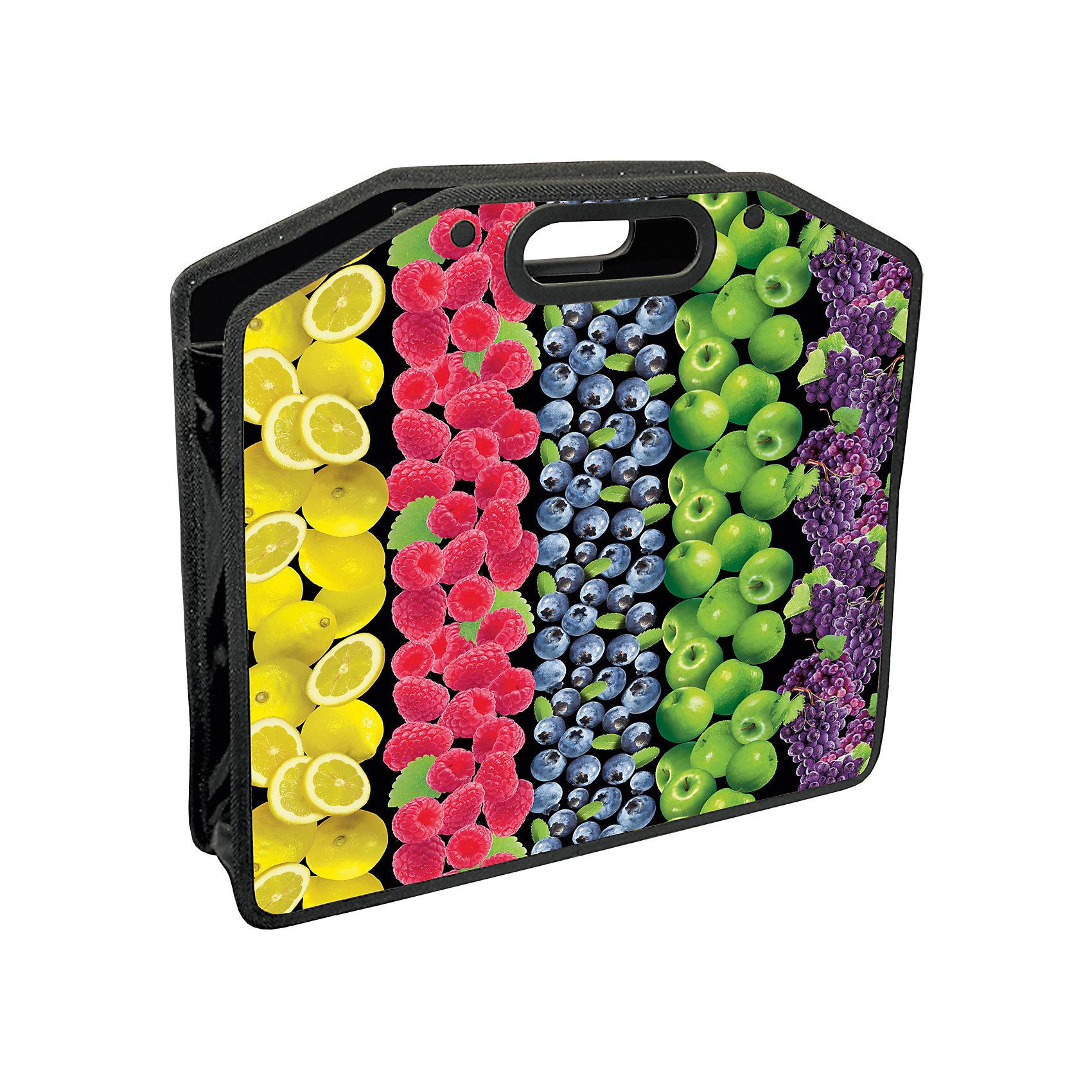 Папка-сумка Фрукты, А4Папки для дополнительных занятий<br>Винтажная  пластиковая папка- сумка с изображением  фруктов и ягод .<br> Прекрасный сюрприз для ребенка к 1 сентября!<br><br>Дополнительная информация: <br><br>- 1 отделение.<br>- Застегивается на молнию.<br>- Материал - полипропилен.<br>- Толщина материала - 50 микрон.<br>- Размер (ВхШхГ) - 37?10?30 см<br>- Размер упаковки: 34х41х0,5 см.<br>- Вес в упаковке: 188 г.<br><br>Папку-сумку Фрукты можно купить в нашем магазине.<br><br>Ширина мм: 340<br>Глубина мм: 410<br>Высота мм: 5<br>Вес г: 188<br>Возраст от месяцев: 72<br>Возраст до месяцев: 144<br>Пол: Унисекс<br>Возраст: Детский<br>SKU: 4792766