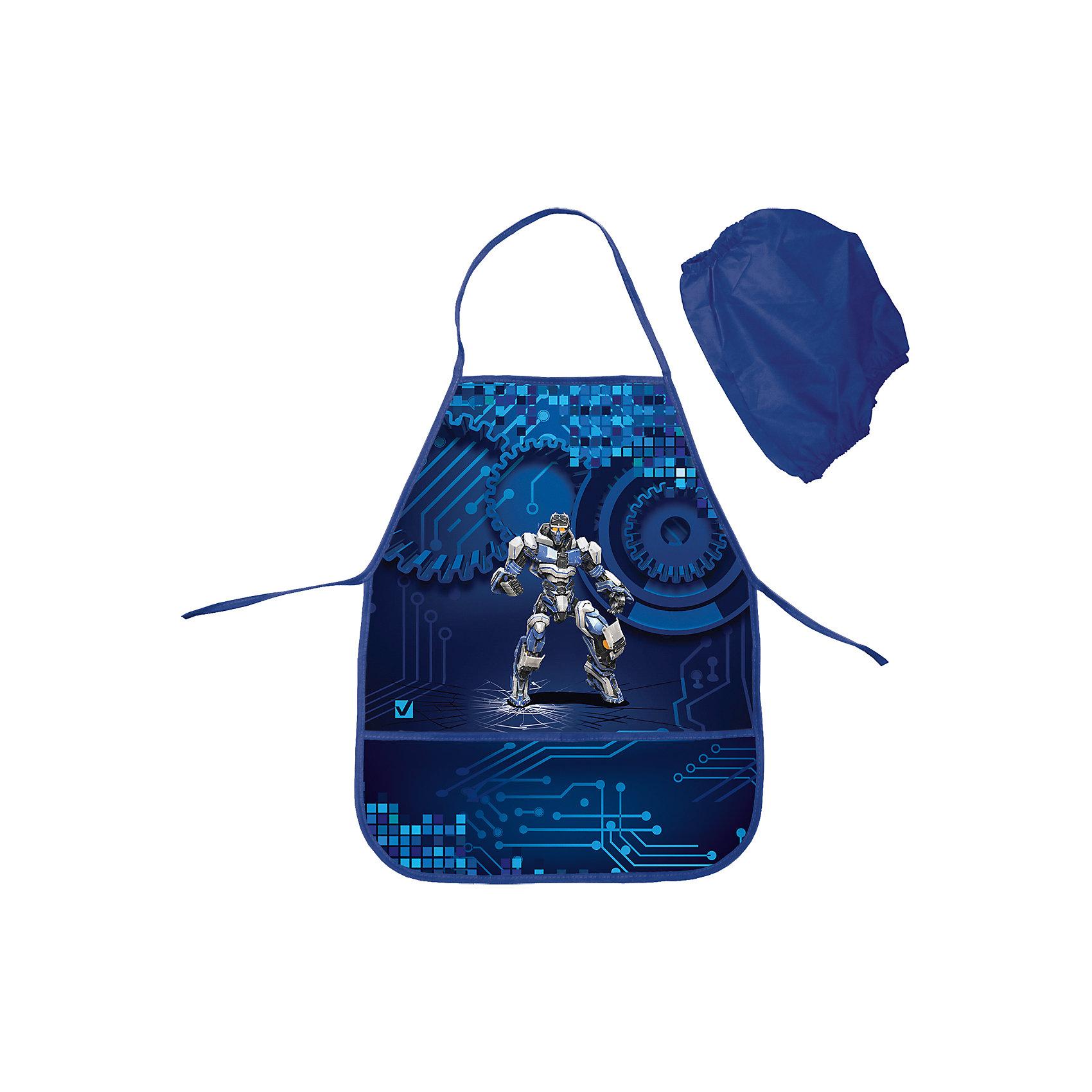 Фартук для труда РоботФартук предназначен специально для мальчиков. Он выполнена в черном и темно-синем цвете, а дополняет её изображение робота, которое привлечет внимание маленьких техников.<br><br>Дополнительная информация:<br><br>- 2 кармана.<br>- Комплектуется 2-мя нарукавниками.<br>- Размер - 50х45 см.<br>- Размер упаковки: 12х16х2,5 см.<br>-  Вес в упаковке: 80 г.<br><br>Фартук для труда Робот можно купить в нашем магазине.<br><br>Ширина мм: 120<br>Глубина мм: 160<br>Высота мм: 25<br>Вес г: 80<br>Возраст от месяцев: 72<br>Возраст до месяцев: 2147483647<br>Пол: Мужской<br>Возраст: Детский<br>SKU: 4792777