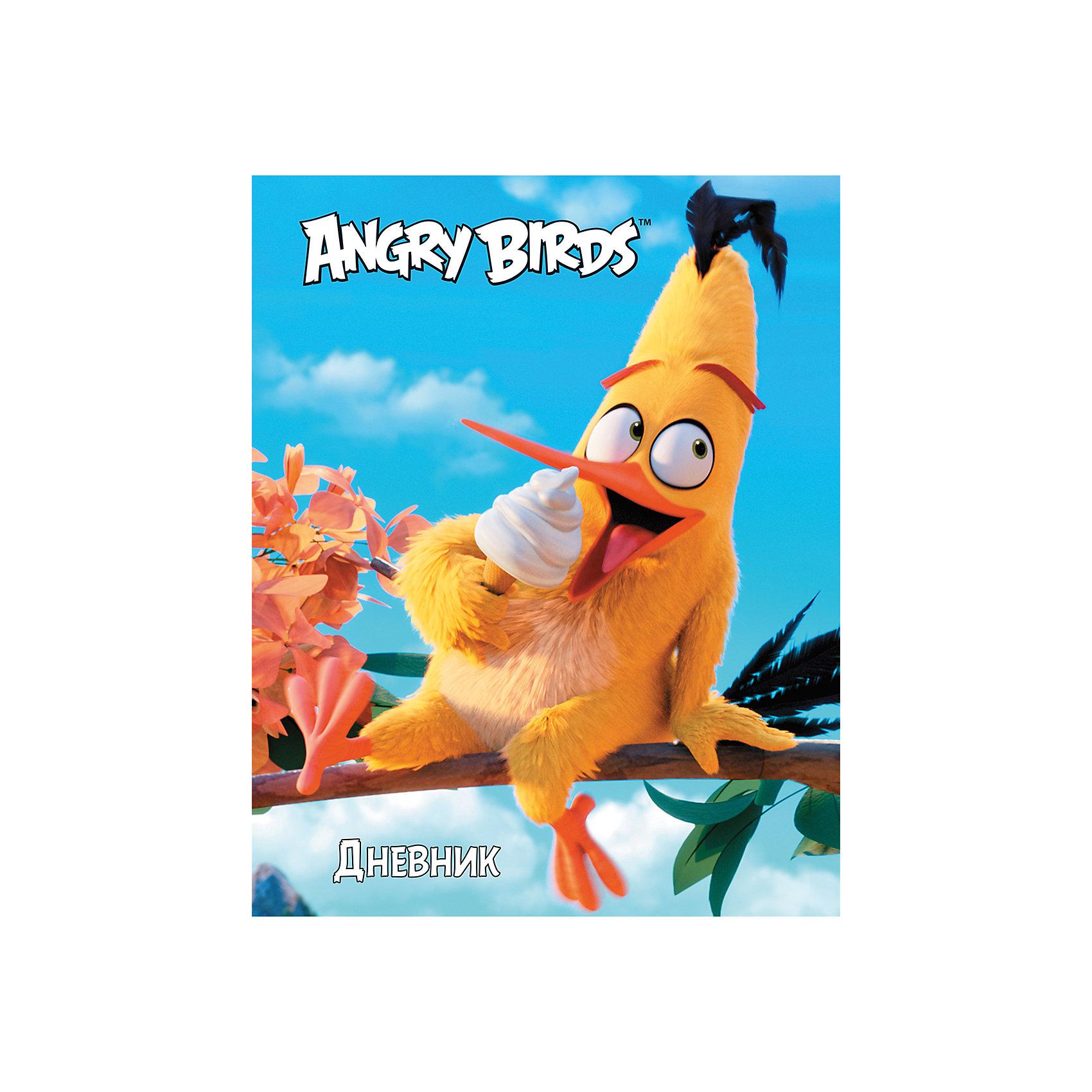 Дневник Хатбер, Angry BirdsУниверсальный дневник для учащихся младших и старших классов. Твердая обложка надежно защищает бумагу и долго сохраняет привлекательный внешний вид.<br><br>Дополнительная информация:<br><br>- Твердый переплет.<br>- Обложка с ламинацией.<br>- Внутренний блок - офсет.<br>- Размер упаковки: 21,5х17х0,9 см.<br>-  Вес в упаковке: 235 г.<br><br>Дневник Хатбер Angry Birds можно купить в нашем магазине.<br><br>Ширина мм: 215<br>Глубина мм: 170<br>Высота мм: 9<br>Вес г: 235<br>Возраст от месяцев: 72<br>Возраст до месяцев: 204<br>Пол: Унисекс<br>Возраст: Детский<br>SKU: 4792792