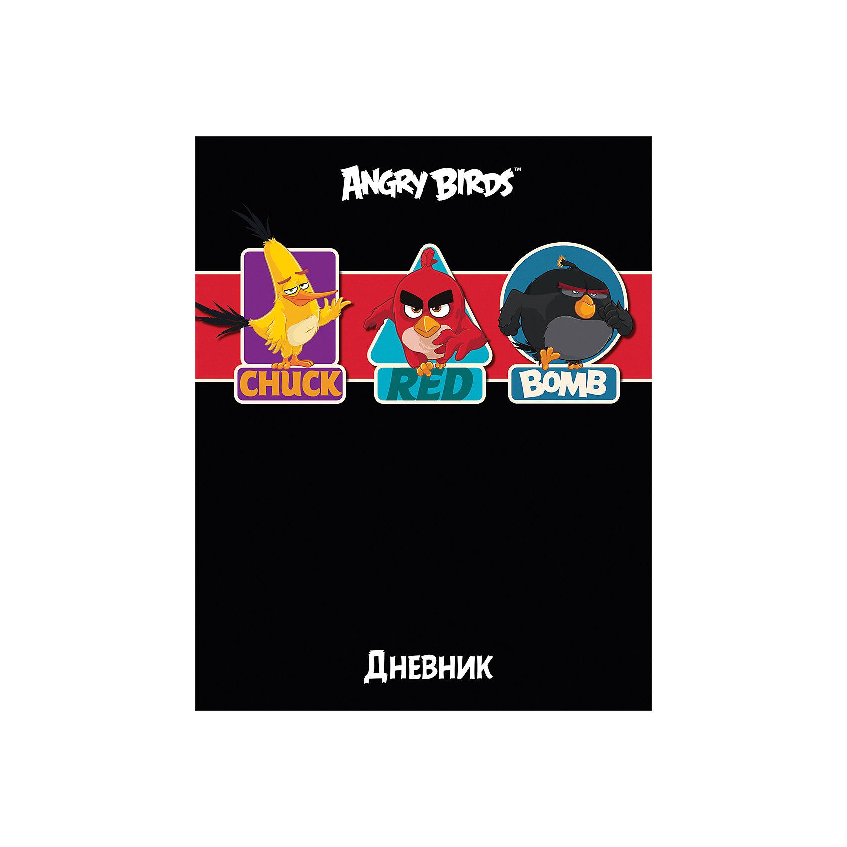 Дневник Хатбер, Angry BirdsУниверсальный дневник для учащихся младших и старших классов. Твердая обложка надежно защищает бумагу и долго сохраняет привлекательный внешний вид.<br><br>Дополнительная информация:<br><br>- Твердый переплет.<br>- Обложка с ламинацией.<br>- Внутренний блок - офсет.<br>- Размер упаковки: 21,5х17х0,9 см.<br>-  Вес в упаковке: 235 г.<br><br>Дневник Хатбер Angry Birds можно купить в нашем магазине.<br><br>Ширина мм: 215<br>Глубина мм: 170<br>Высота мм: 9<br>Вес г: 235<br>Возраст от месяцев: 72<br>Возраст до месяцев: 204<br>Пол: Унисекс<br>Возраст: Детский<br>SKU: 4792794