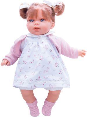 Кукла Лорена в белом, 37 см, Munecas Antonio Juan